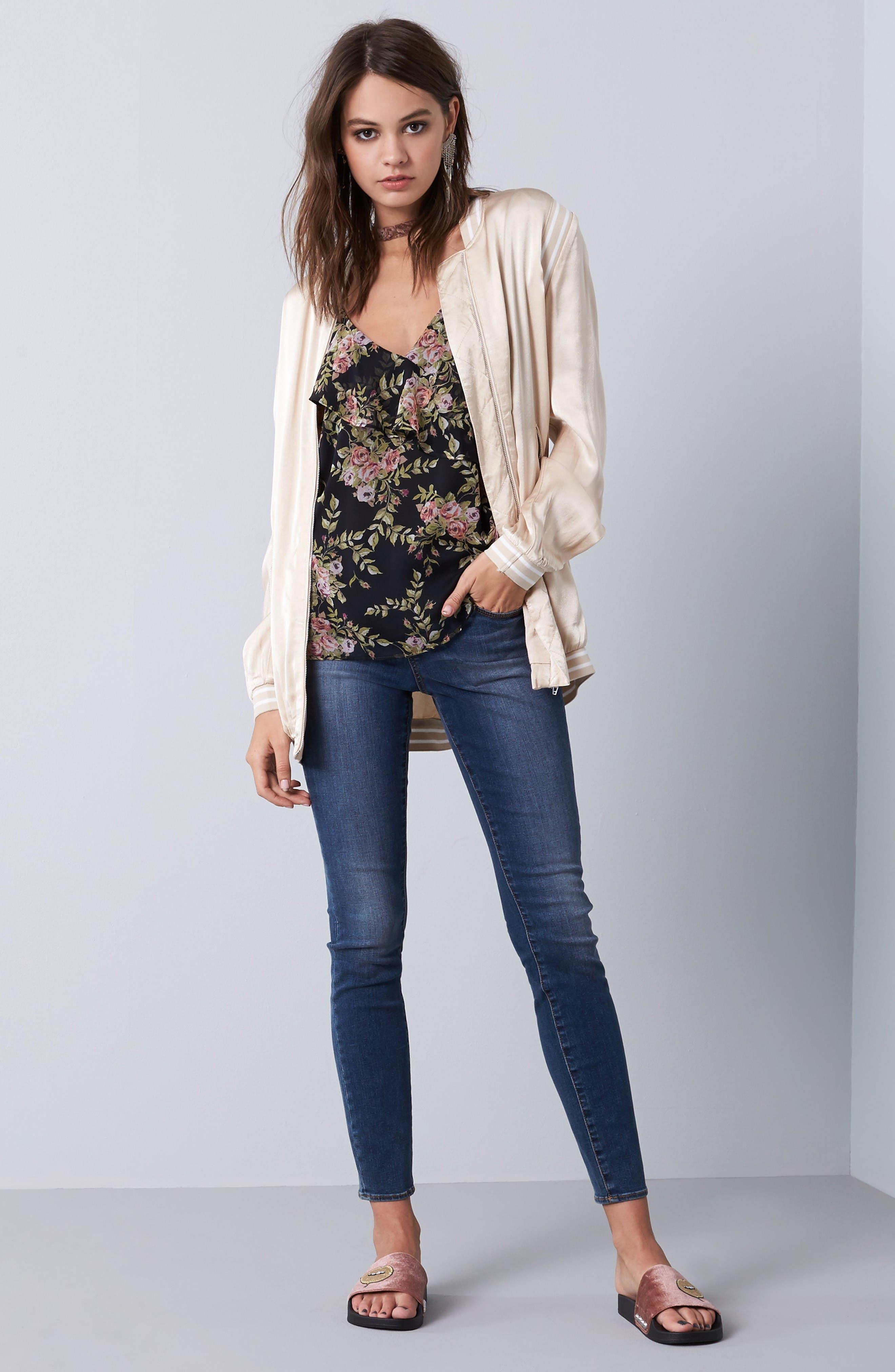 Alternate Image 2  - Articles of Society Sarah Skinny Jeans (Bancroft)