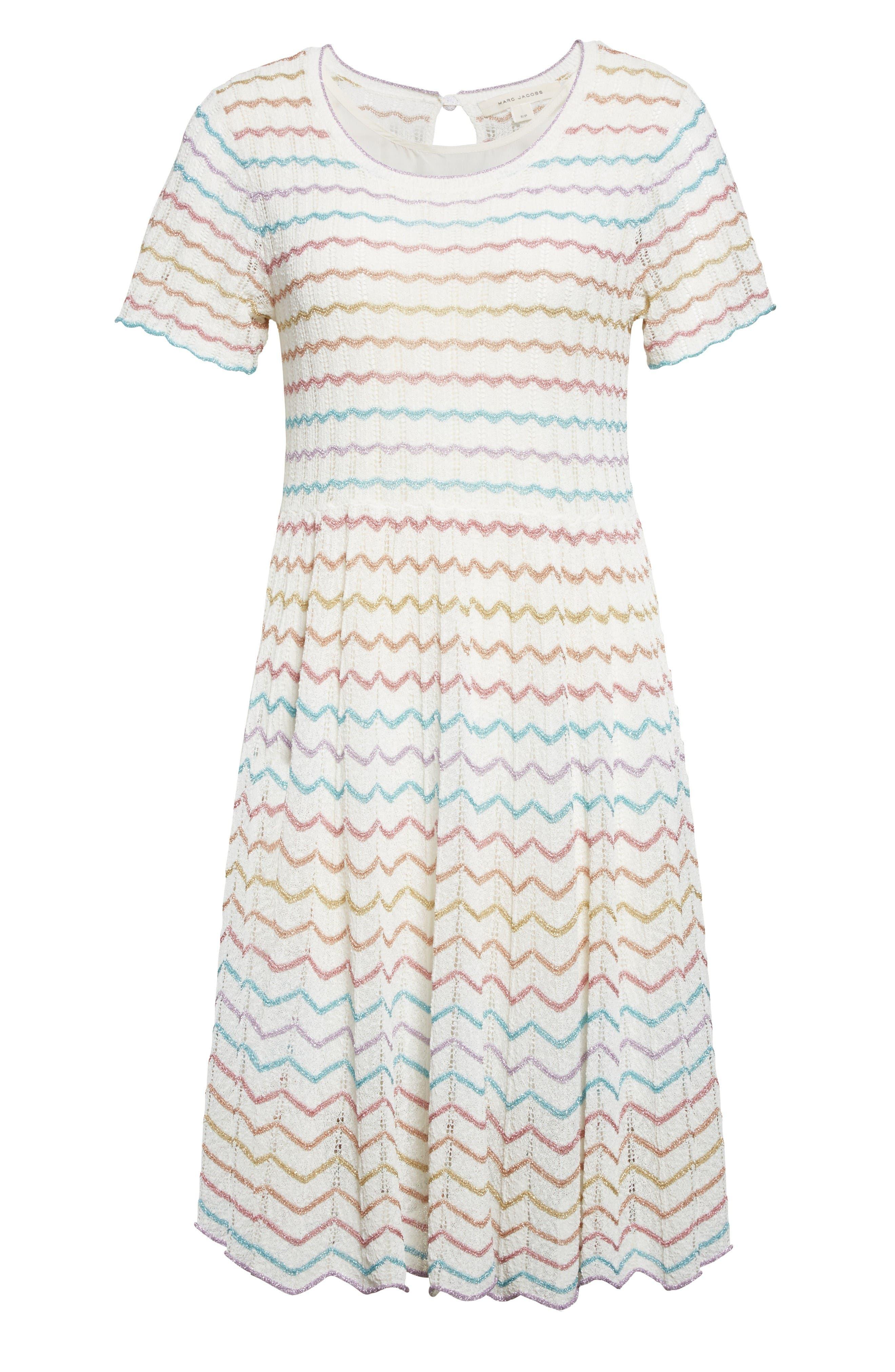 Alternate Image 4  - MARC JACOBS Knit Babydoll Dress