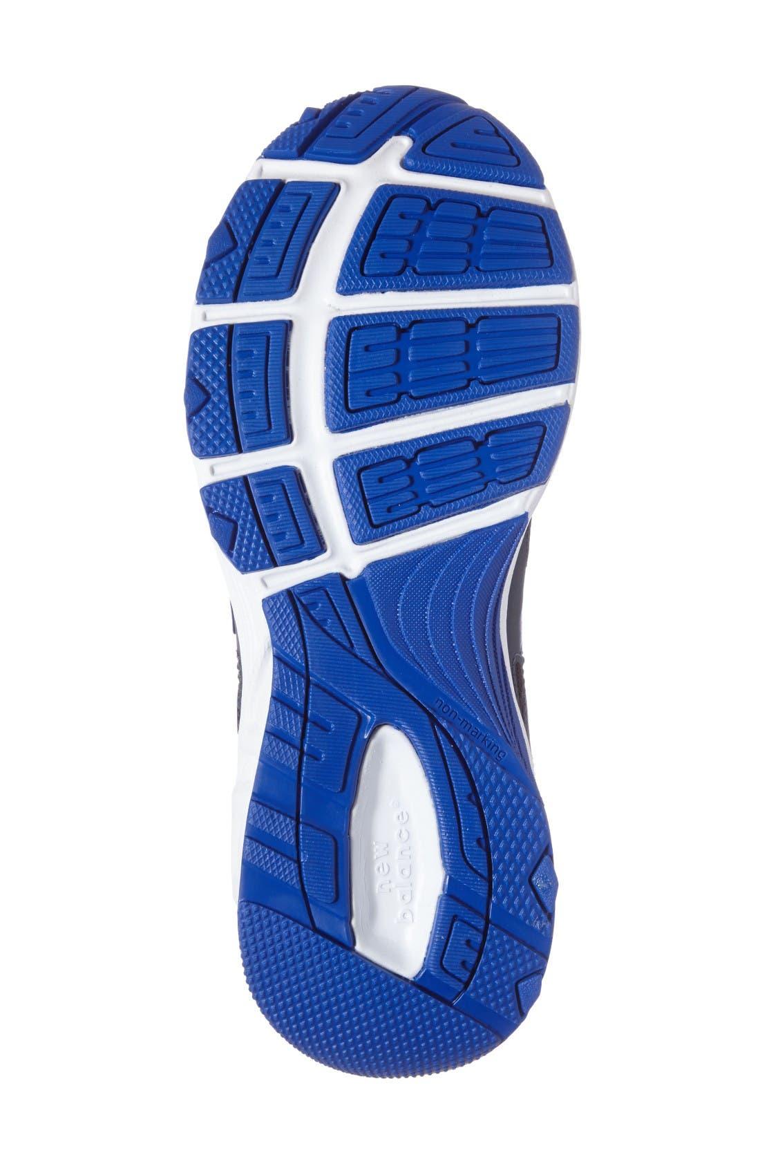 680v3 Sneaker,                             Alternate thumbnail 4, color,                             Grey/Blue