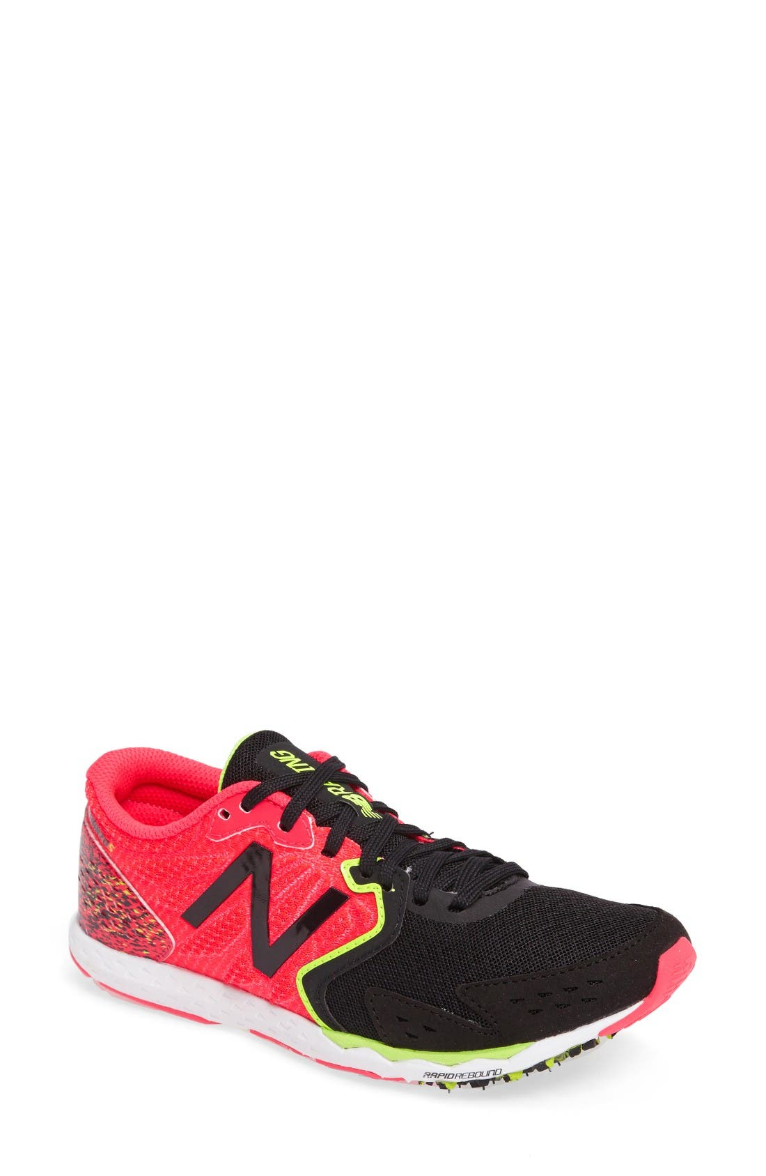 new balance shoes red and black. new balance hanzo s running shoe (women) shoes red and black