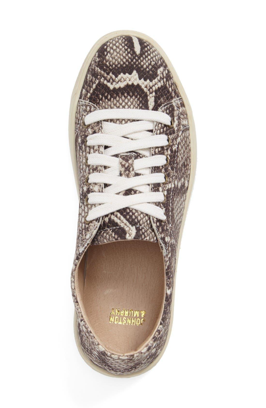 'Emerson' Sneaker,                             Alternate thumbnail 3, color,                             Snake Print Leather