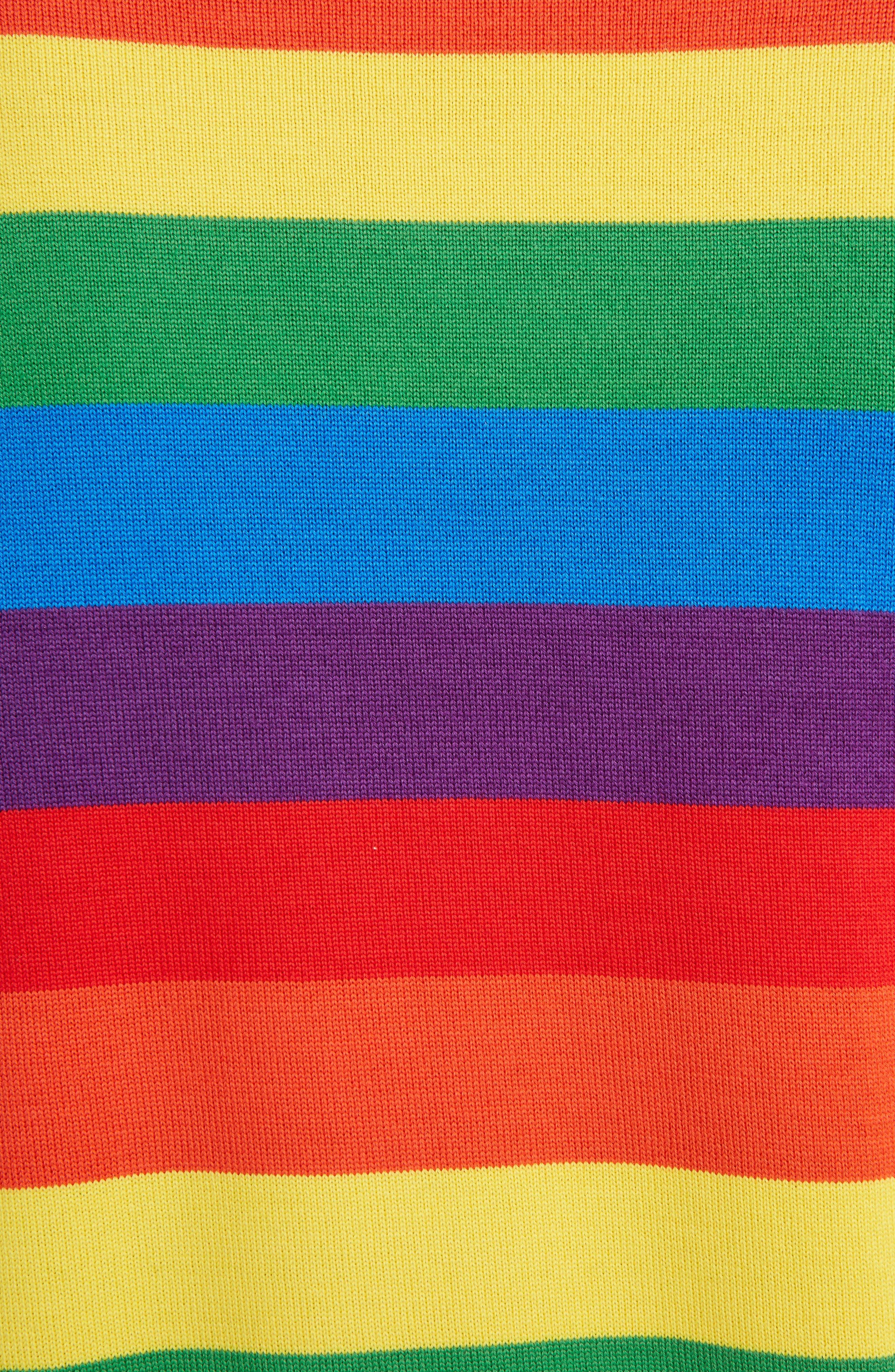 Alternate Image 3  - Loewe Cat Rainbow Stripe Wool Blend Sweater