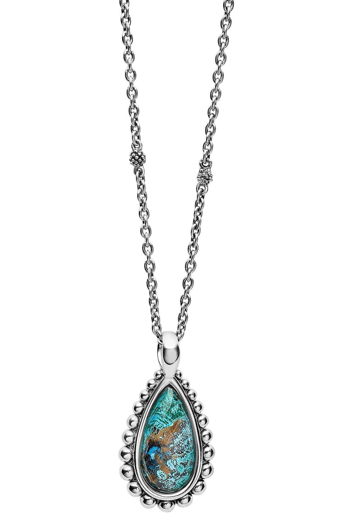 Main Image - LAGOS 'Maya' Teardrop Pendant Necklace