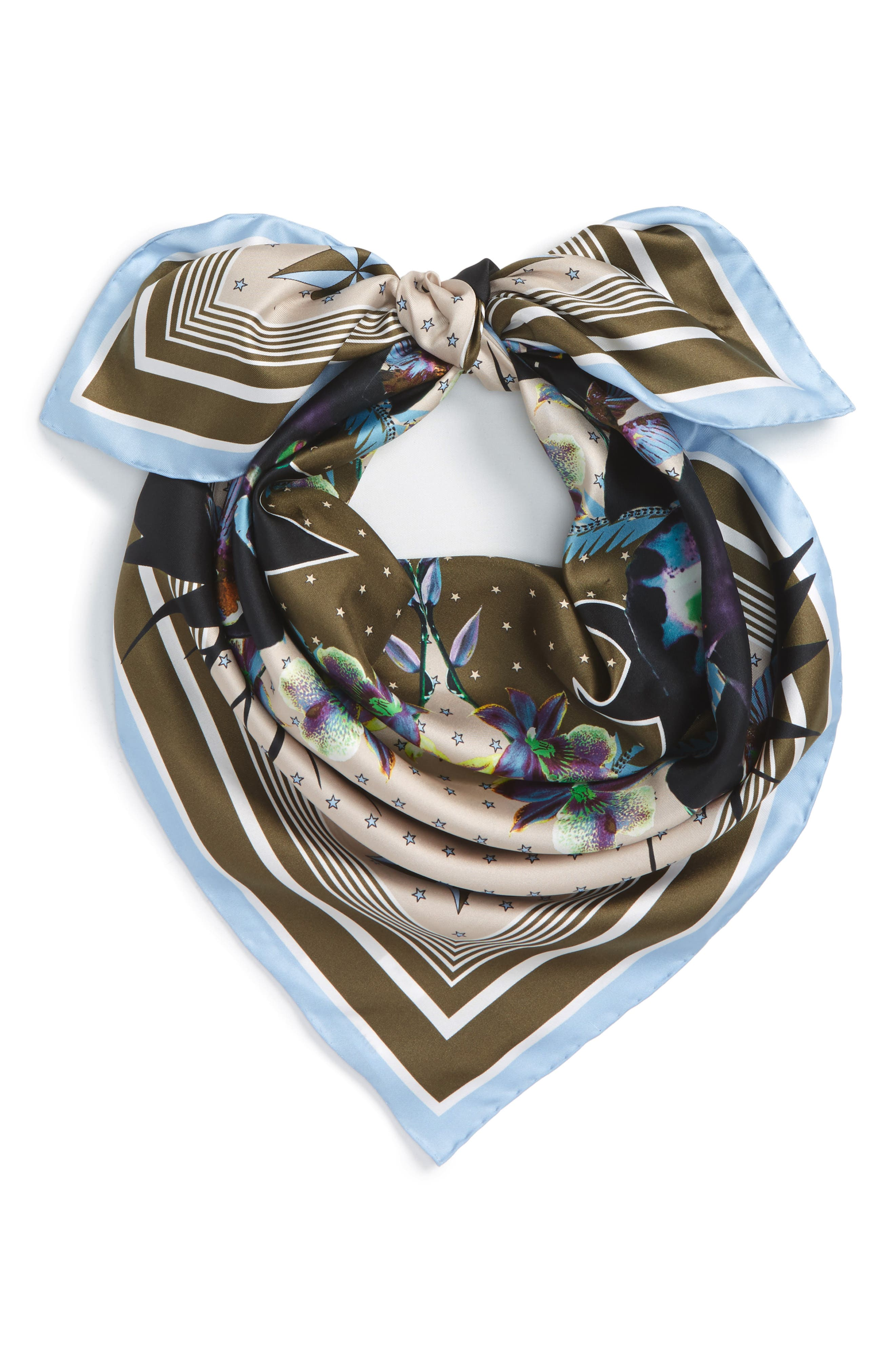Alternate Image 2  - Givenchy Ultra Paradise Silk Scarf