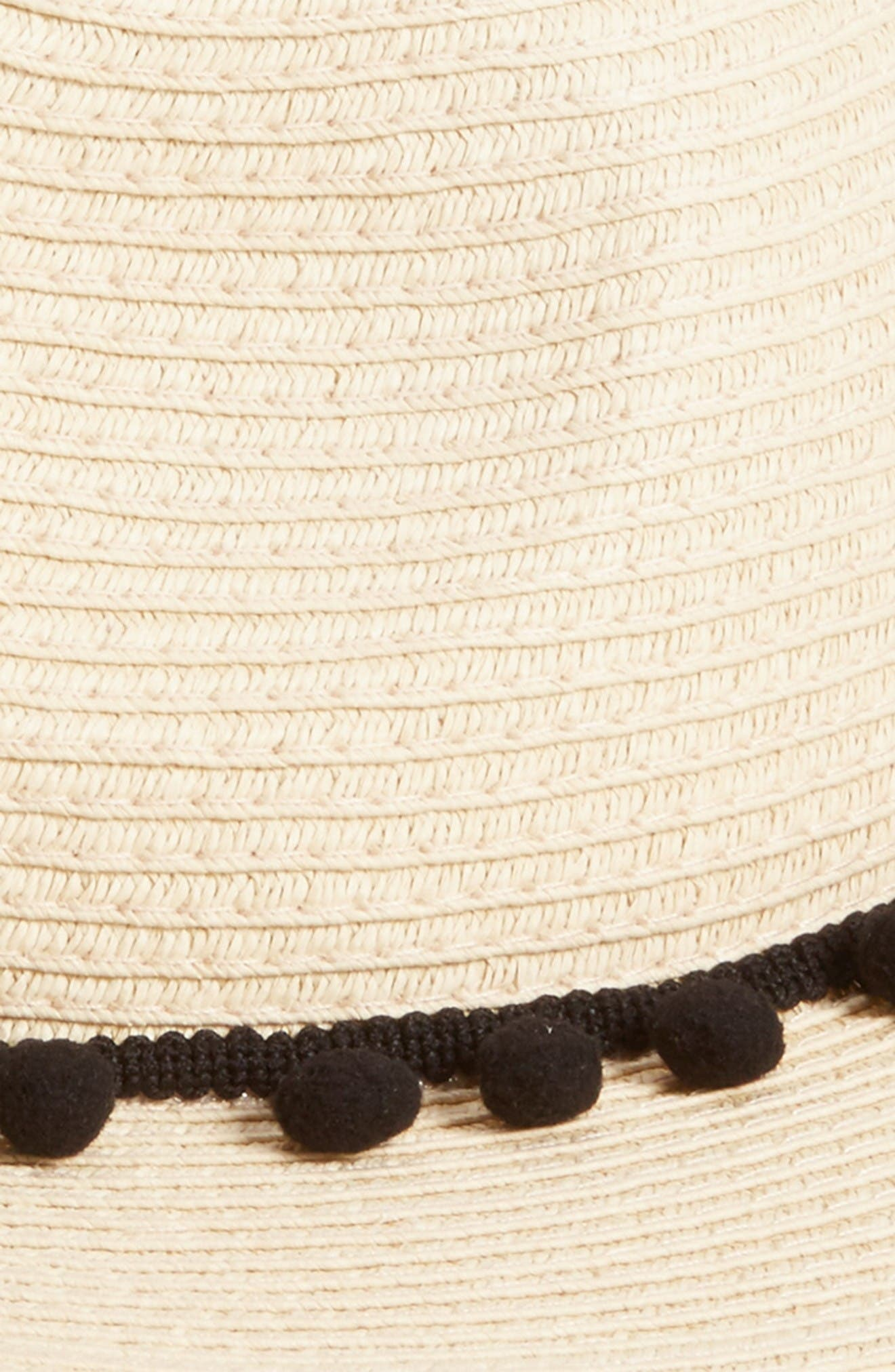 Alternate Image 2  - Sole Society Pom Pom Panama Hat