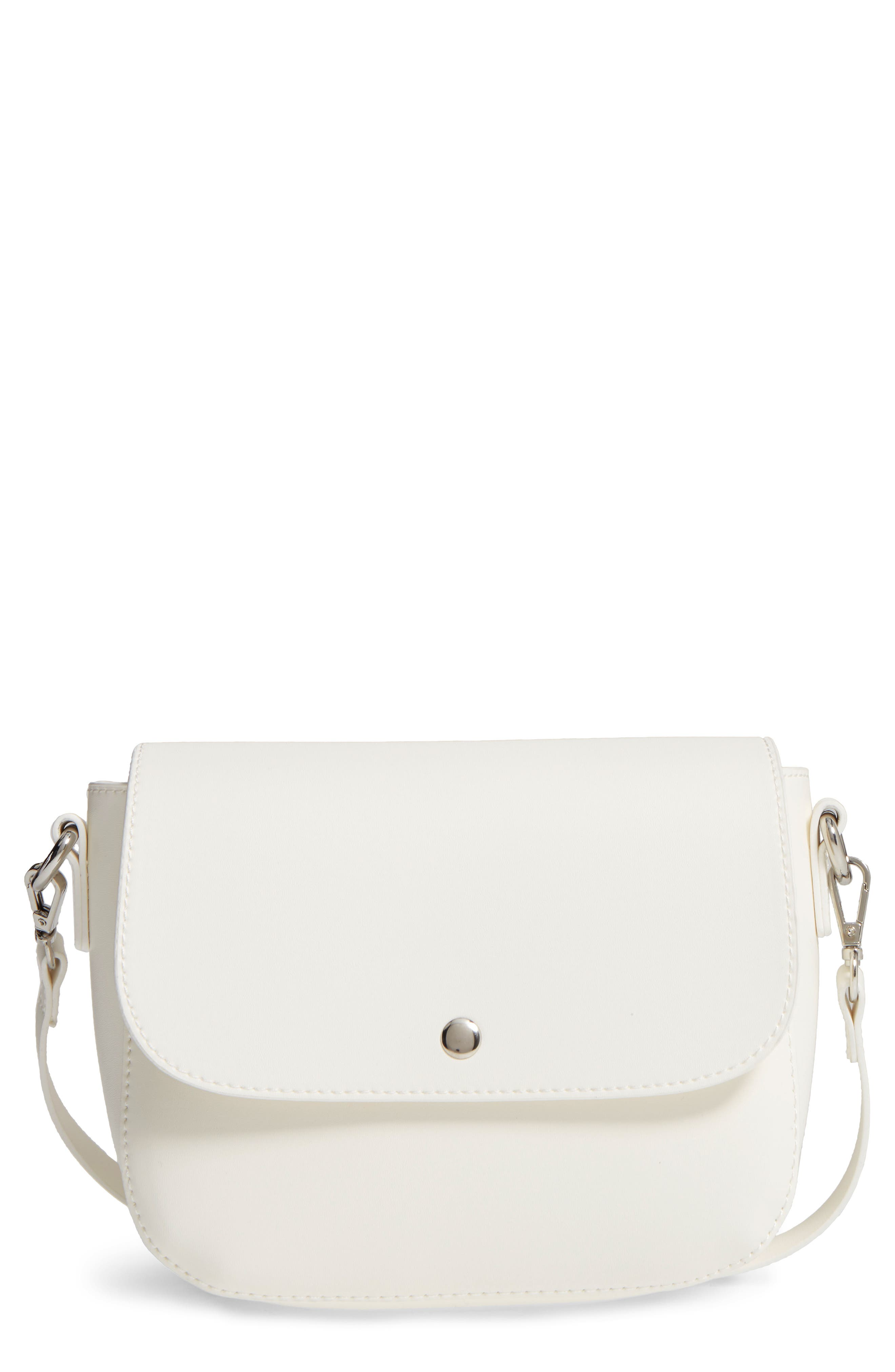 Alternate Image 1 Selected - BP. Minimal Faux Leather Crossbody Bag