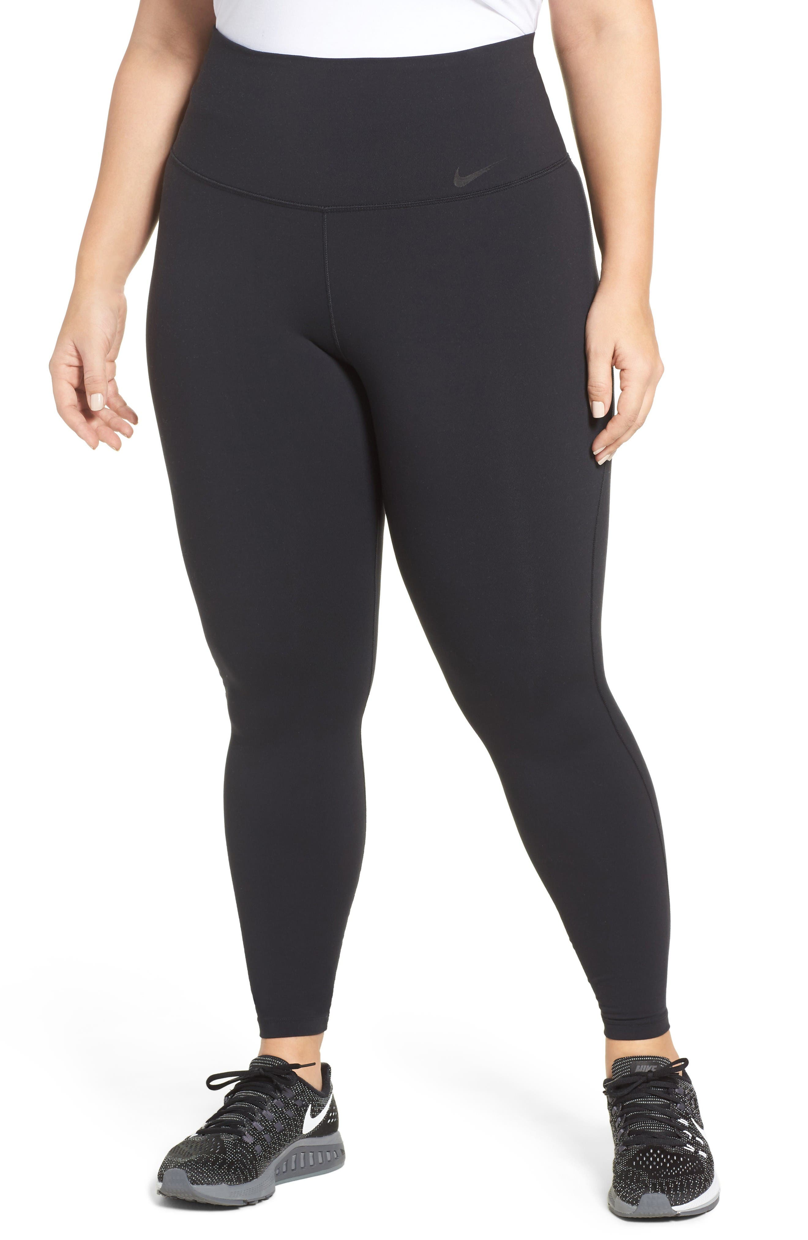 Alternate Image 1 Selected - Nike Power Legendary High Waist Tights (Plus Size)