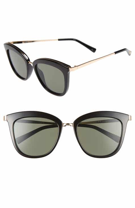 783ec39d9fb Le Specs Caliente 53mm Cat Eye Sunglasses