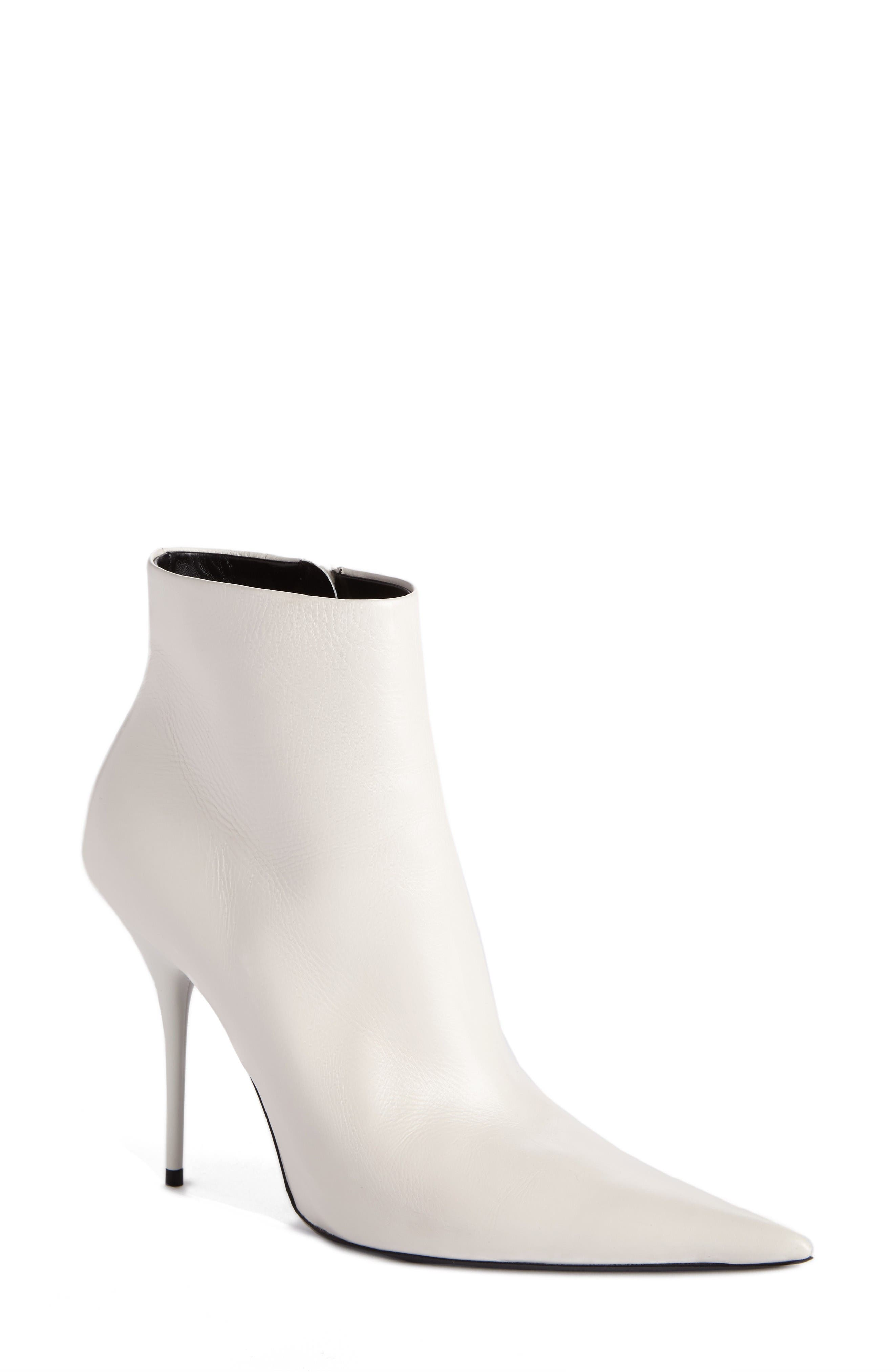 Balenciaga Pointy Toe Bootie (Women)