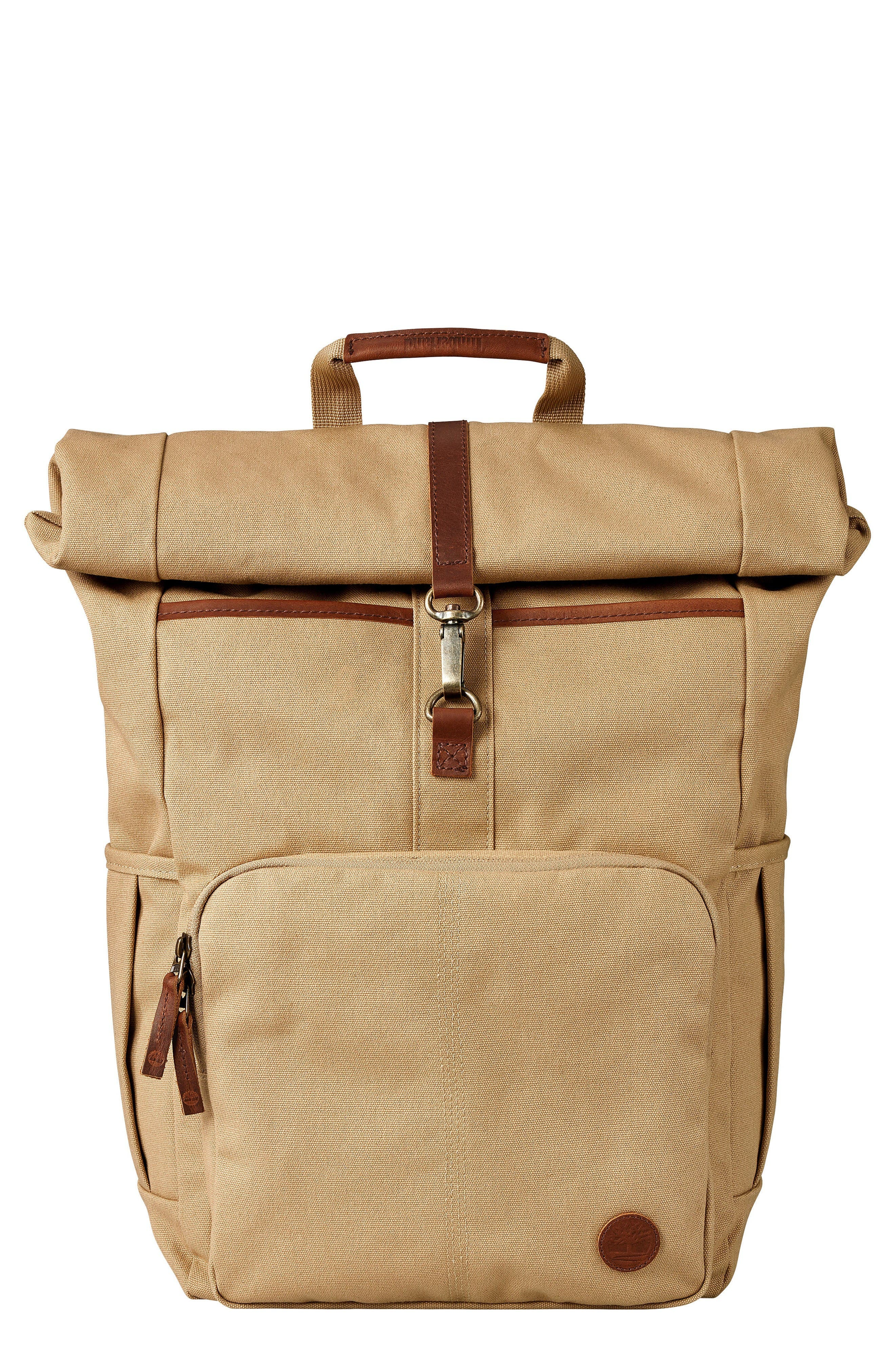 Walnut Hill Rolltop Backpack,                         Main,                         color, Kelp