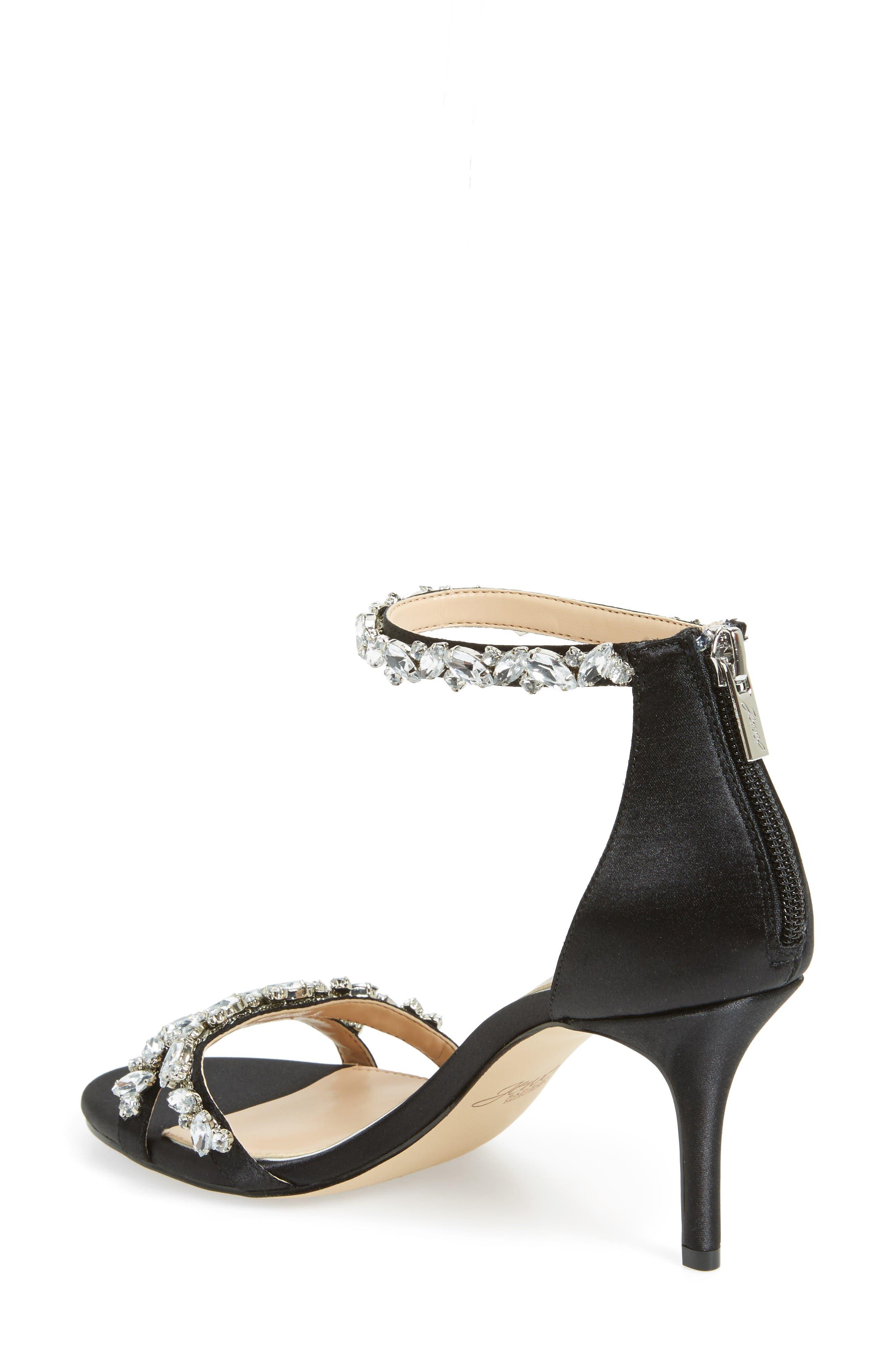 Alternate Image 2  - Jewel Badgley Mischka Caroline Embellished Sandal (Women)