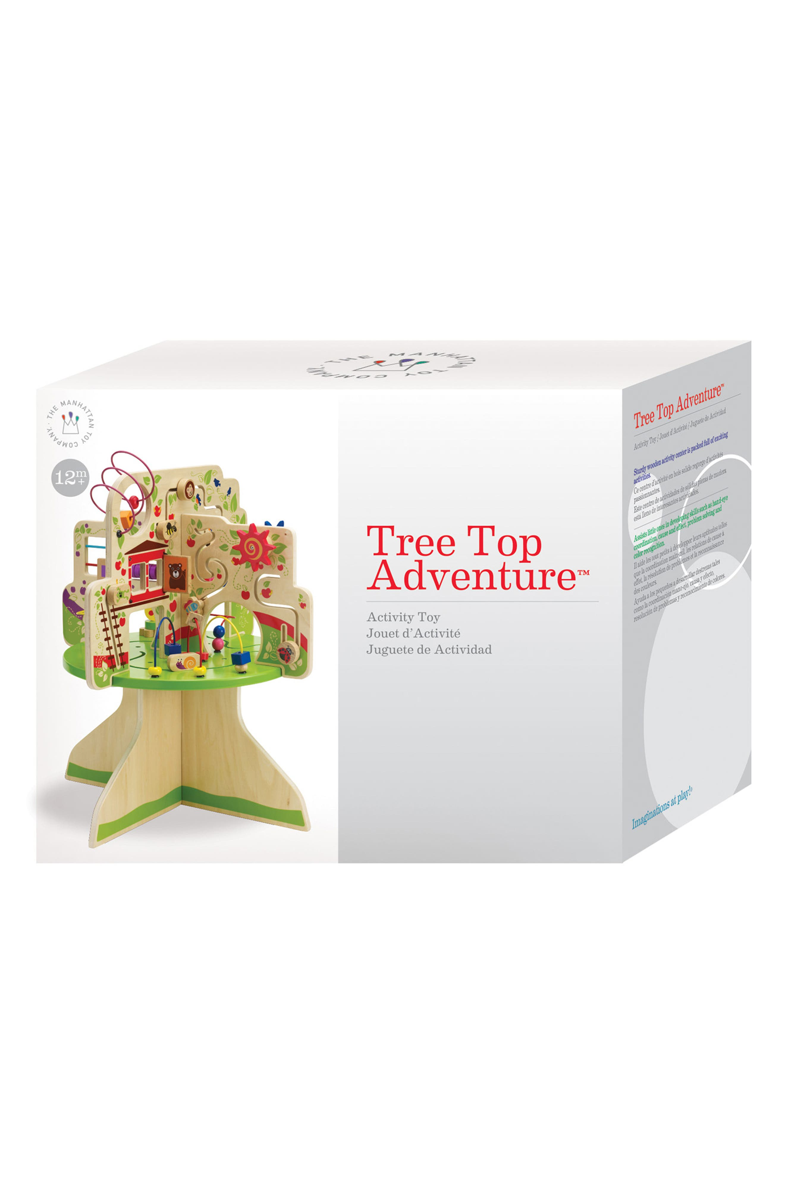 Wooden Tree Top Adventure Activity Center,                             Alternate thumbnail 5, color,                             Green