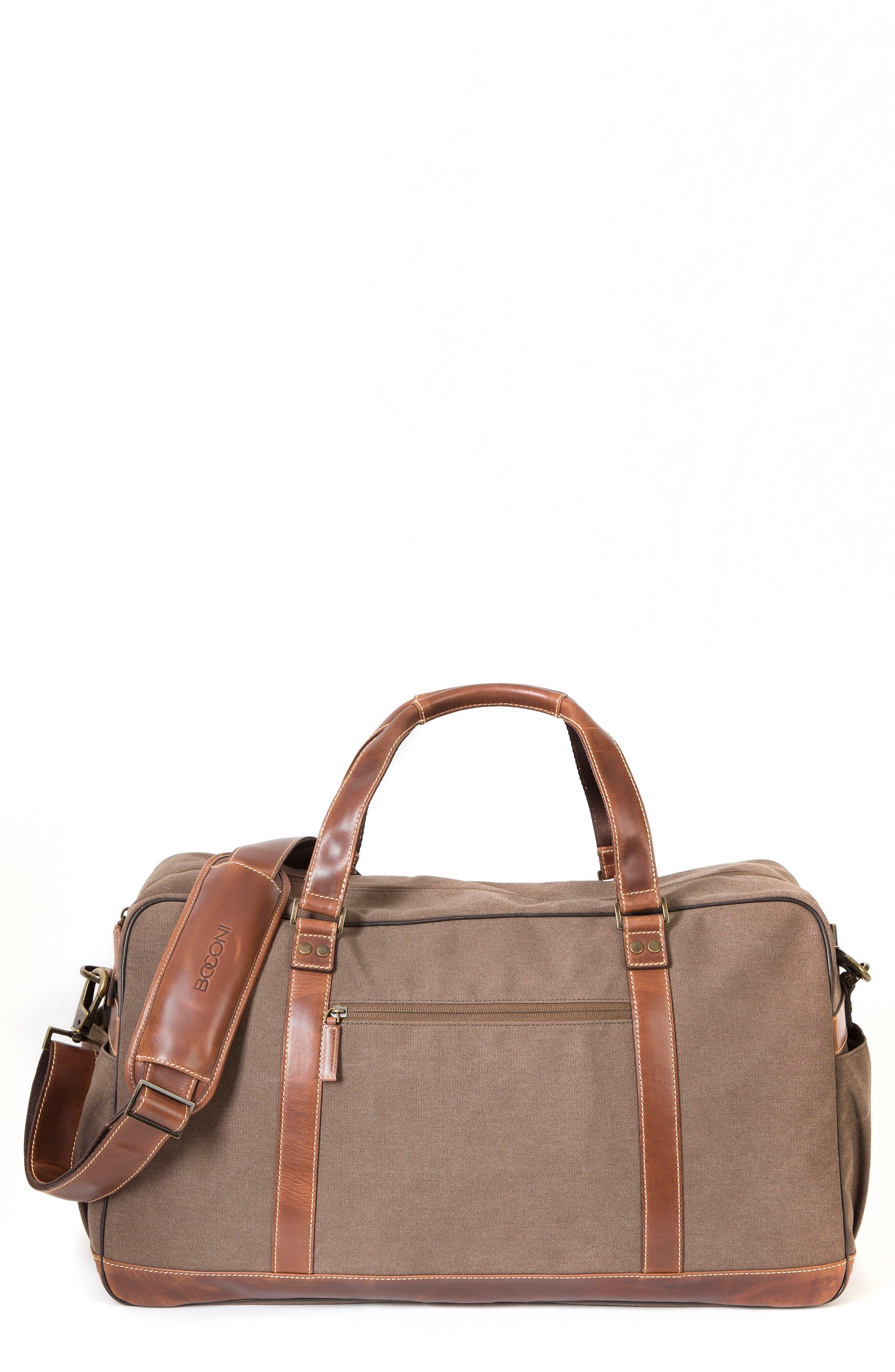 Bryant LTE Getaway Duffel Bag,                             Main thumbnail 1, color,                             Antique Mahogany/ Brown