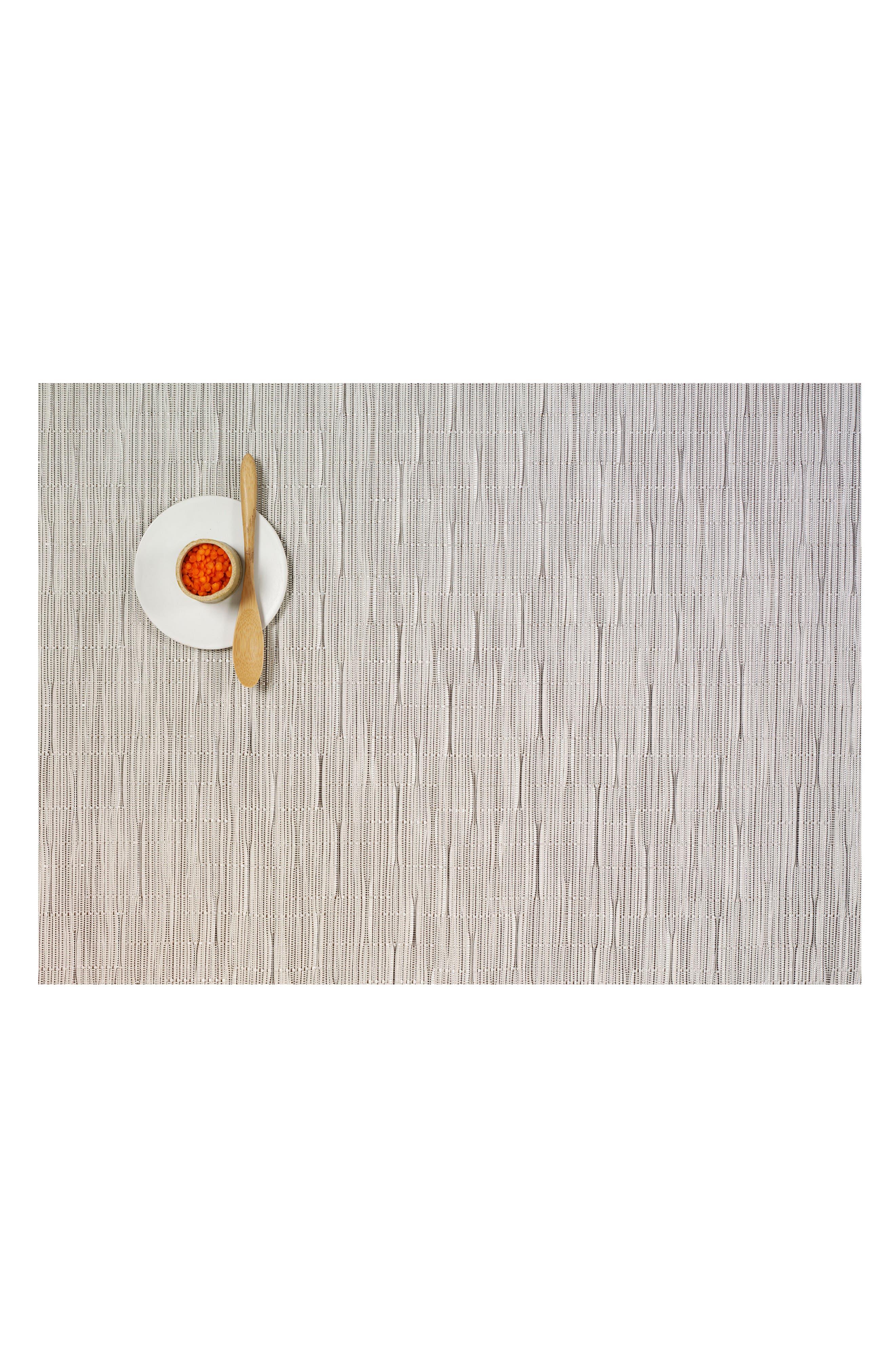 Rectangular Placemat,                         Main,                         color, Chalk