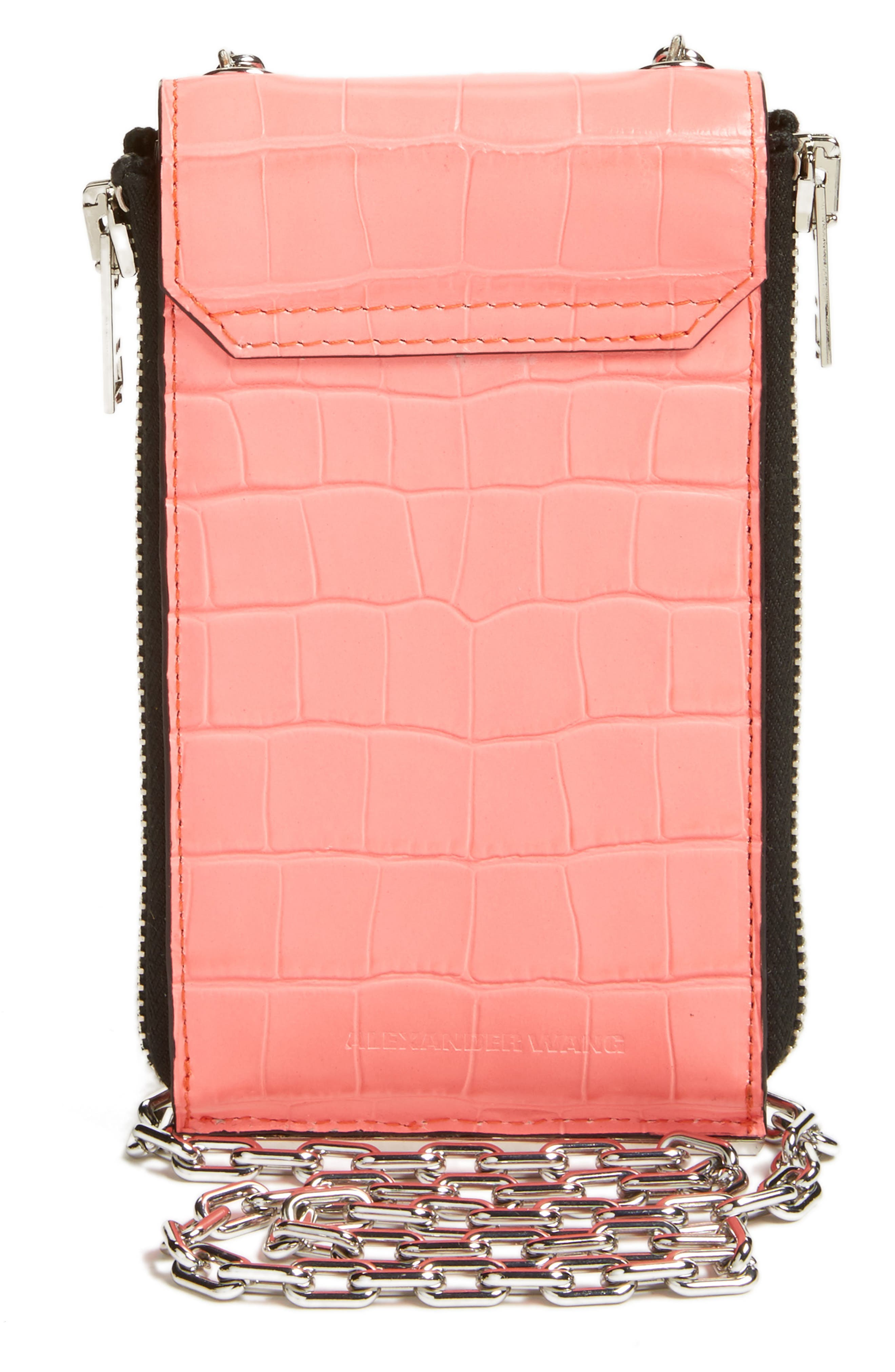 Alternate Image 2  - Alexander Wang Riot Leather Wallet on a Chain