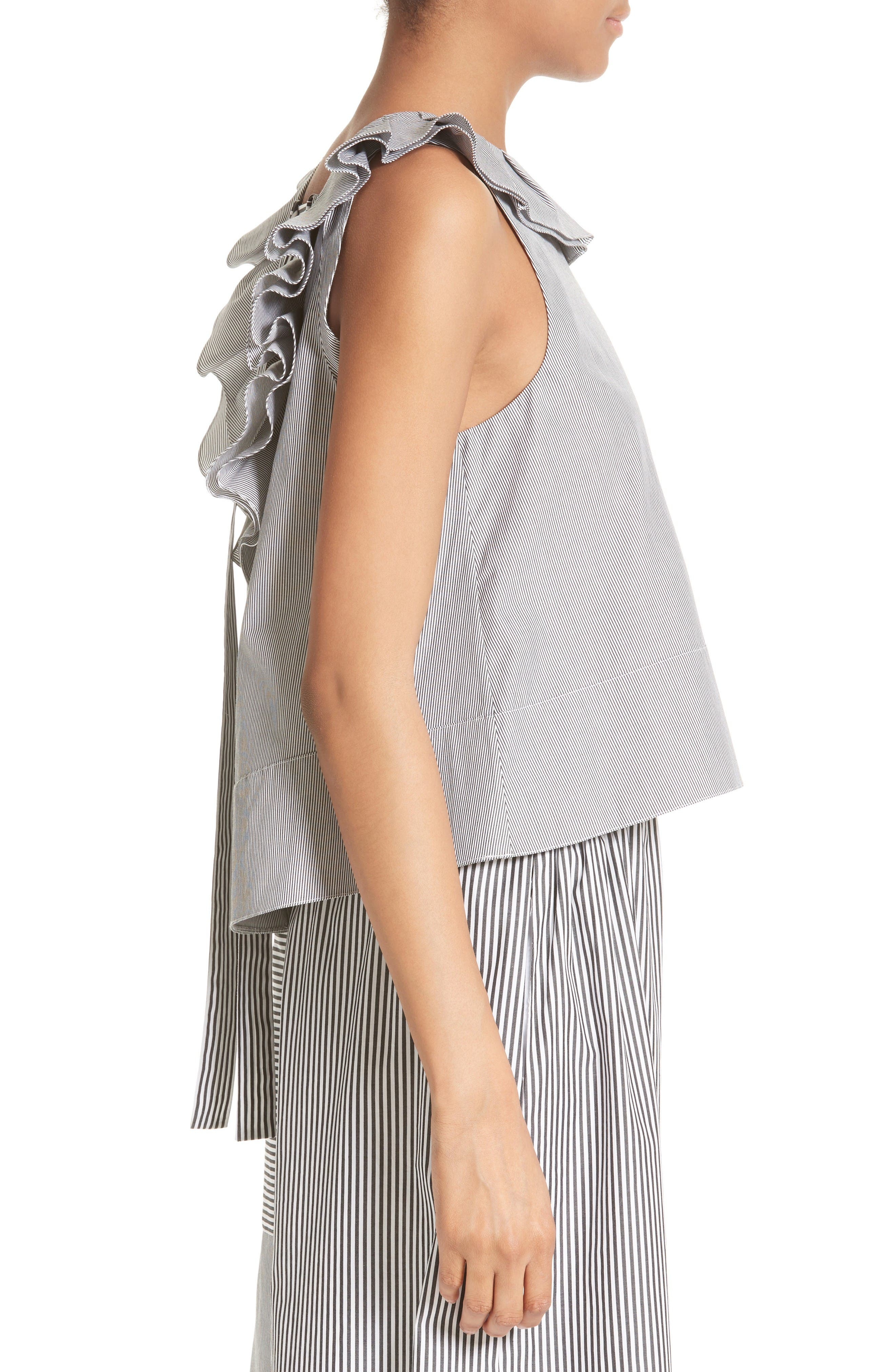 Alternate Image 3  - Tibi Tie Detail Top