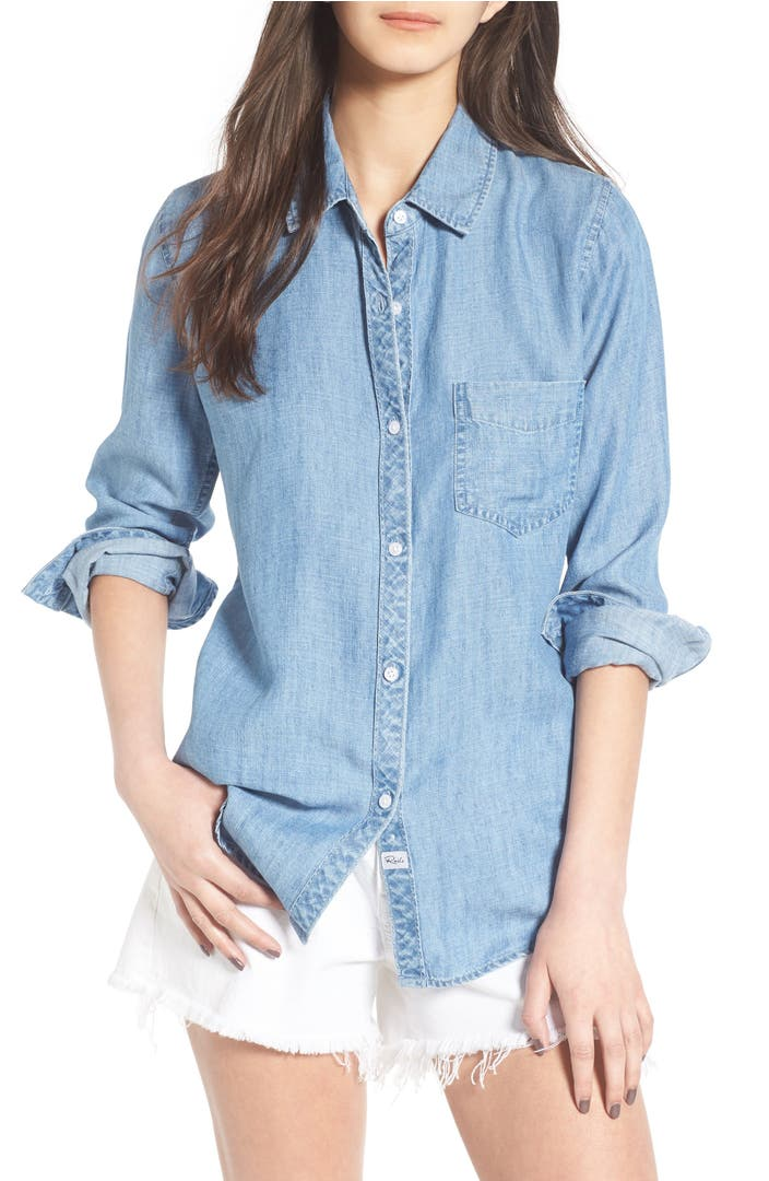 Shop chambray dress at ganjamoney.tk Free Shipping and Free Returns for Loyallists or Any Order Over $!