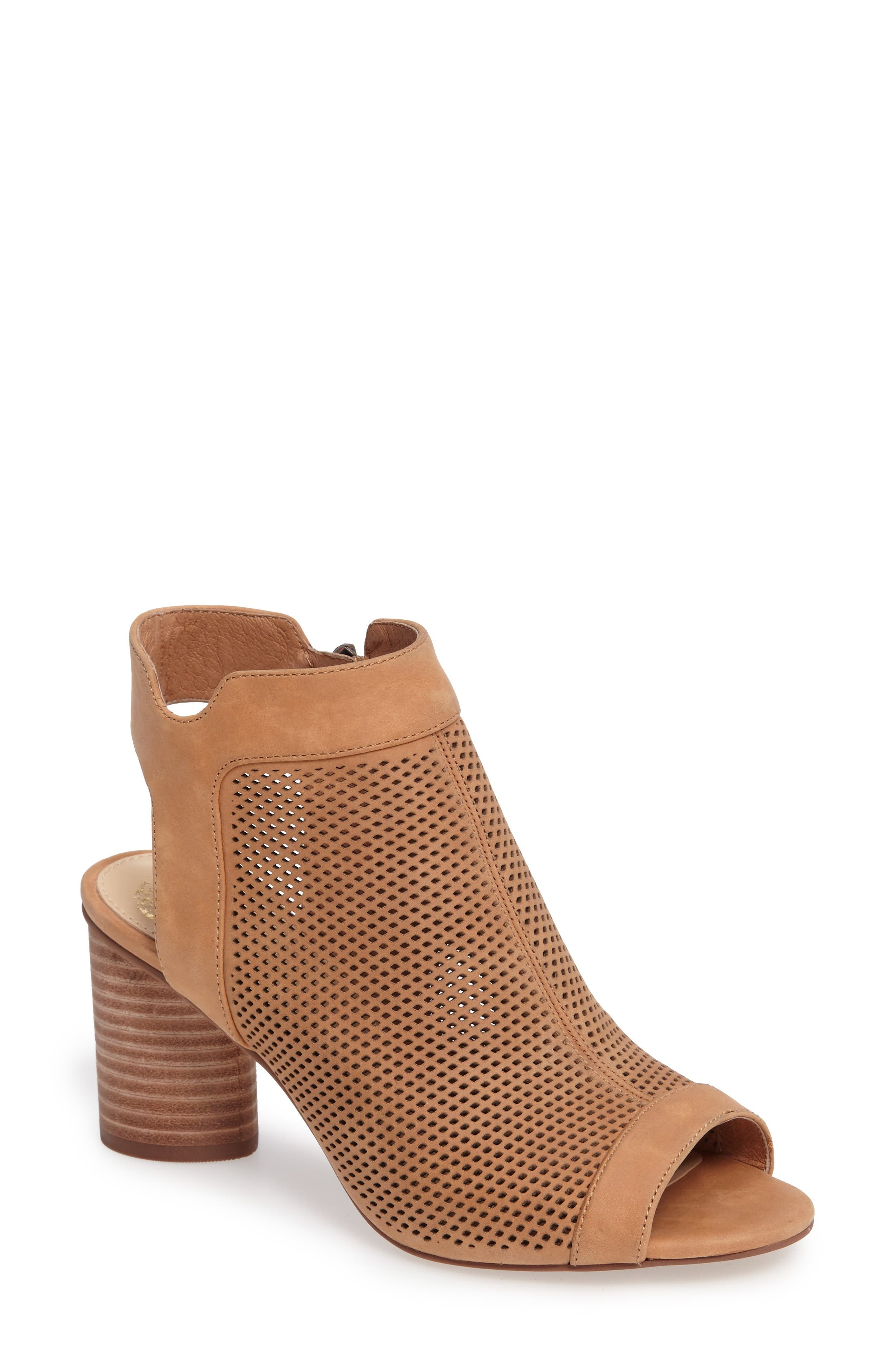 Jakayla Sandal,                         Main,                         color, Peanut Leather
