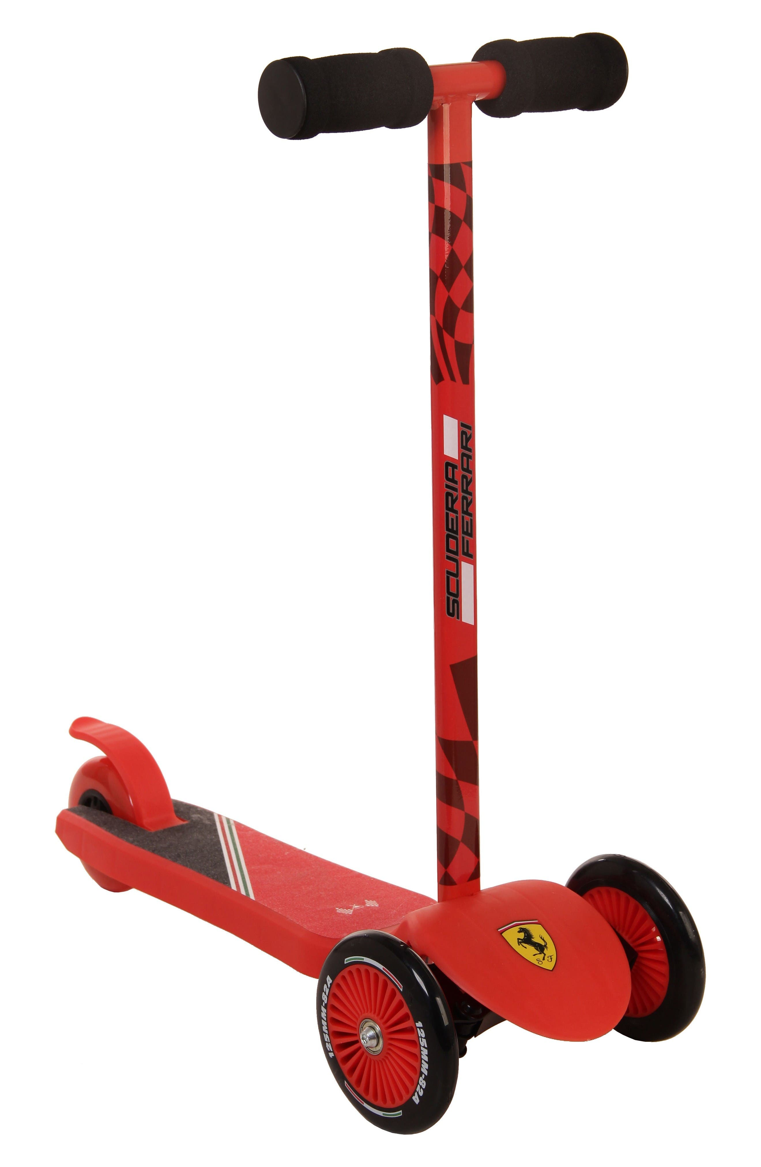 Twist Scooter,                             Main thumbnail 1, color,                             Ferrari Red