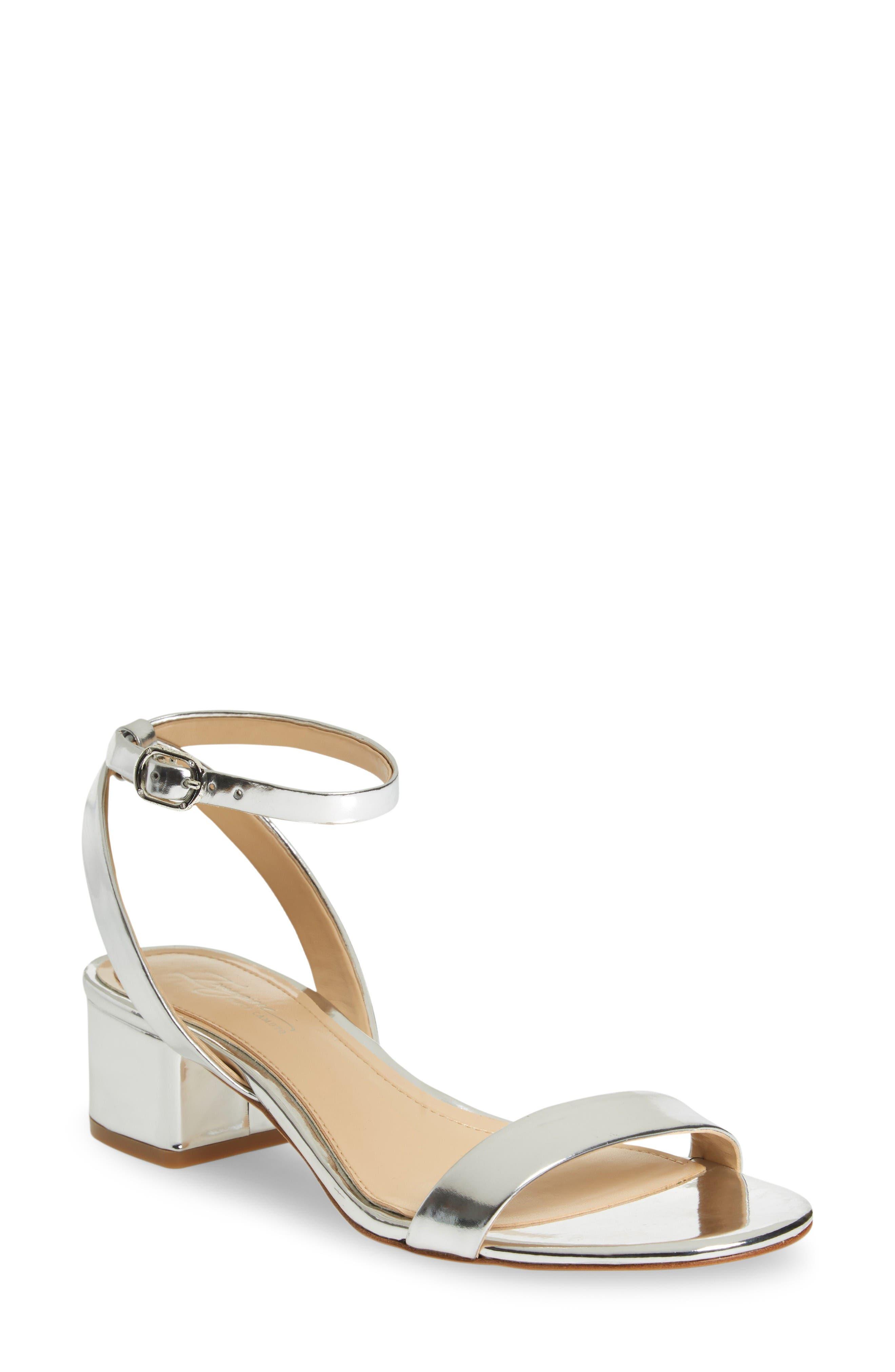 Imagine Vince Camuto Bavel Sandal,                         Main,                         color, Platinum Leather