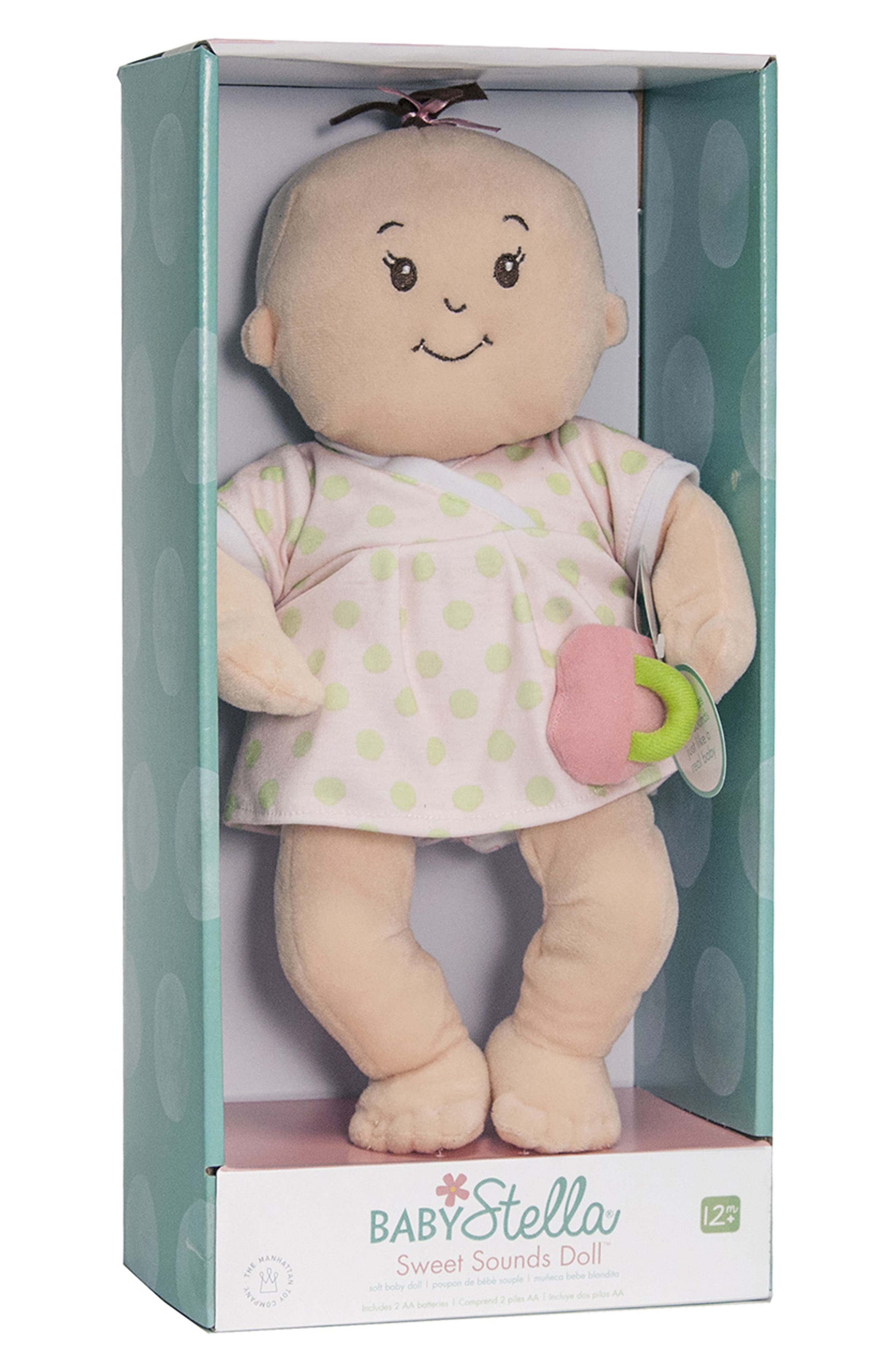 Baby Stella Sweet Sounds Doll,                             Alternate thumbnail 3, color,                             White
