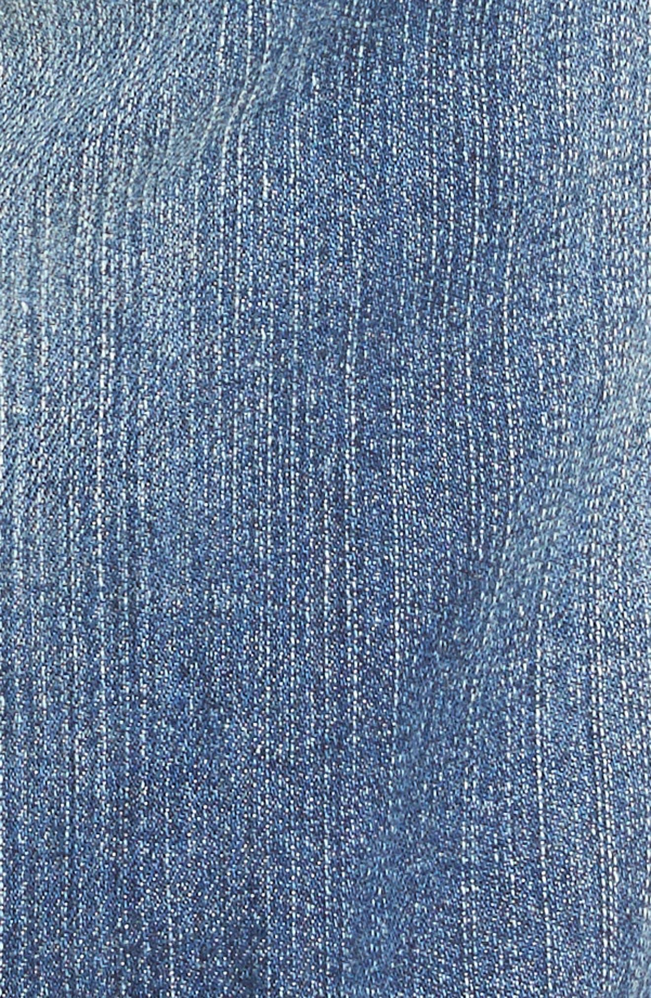 Alternate Image 5  - KUT from the Kloth Catherine Distressed Denim Boyfriend Shorts