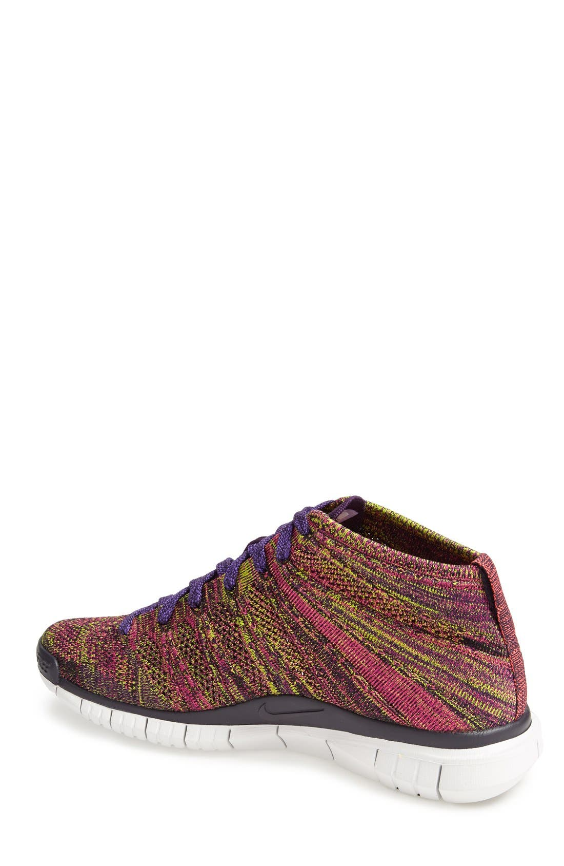 Alternate Image 2  - Nike 'Free Flyknit Chukka' Sneaker (Men)