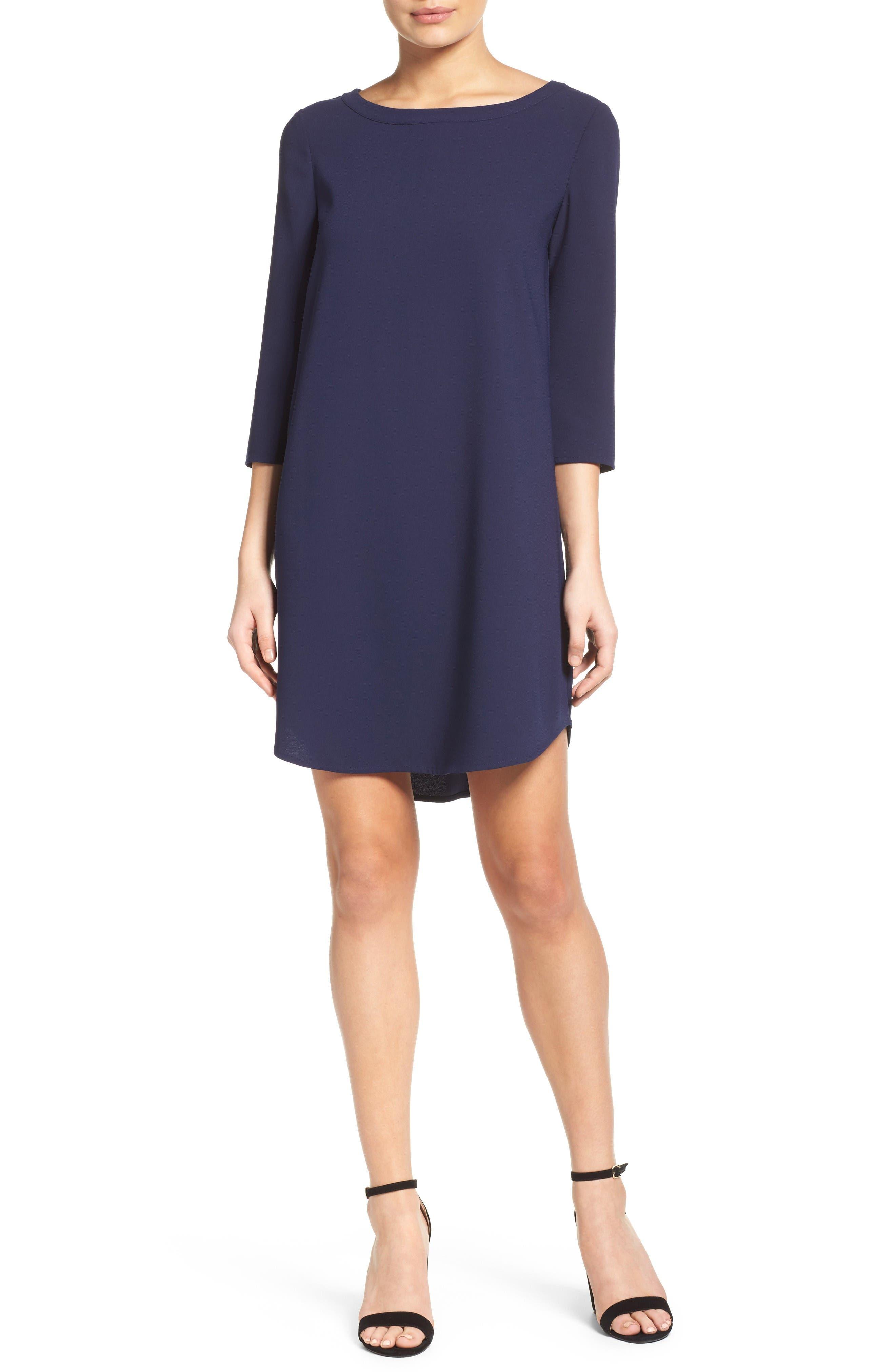 Alternate Image 4  - BB Dakota 'Jazlyn' Crepe Shift Dress
