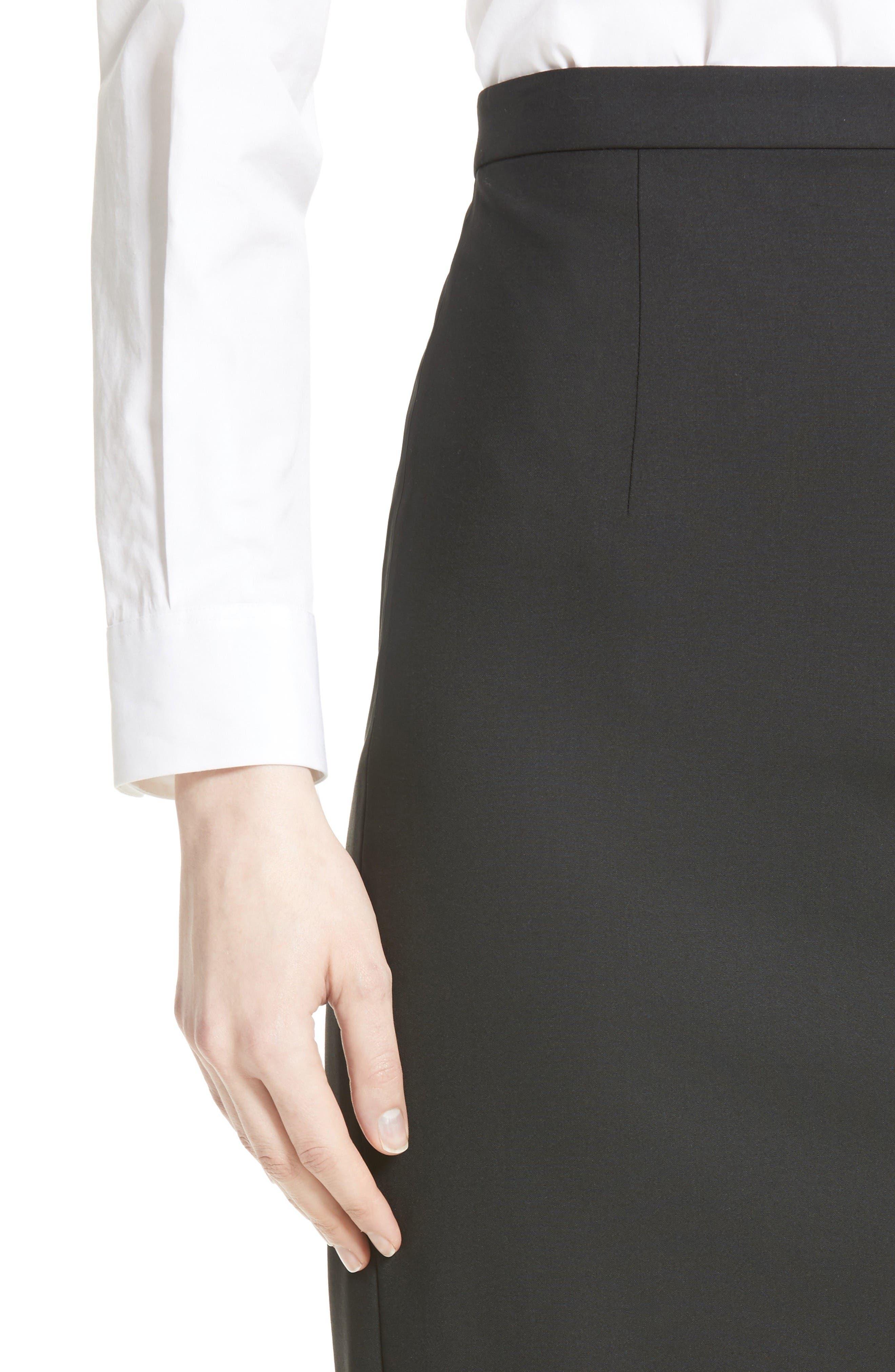 Alternate Image 5  - Theory Hemdall B Good Wool Suit Skirt (Nordstrom Exclusive)
