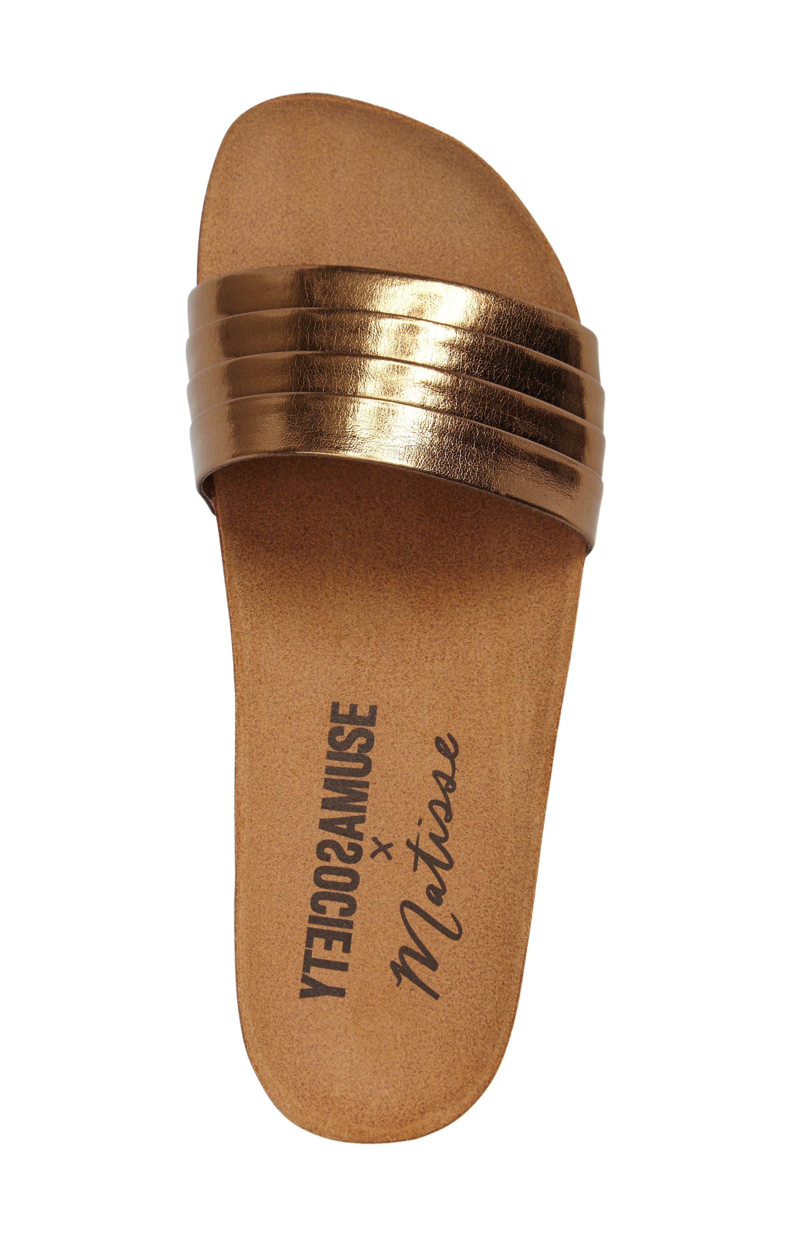 Alternate Image 3  - Amuse Society x Matisse Santos Slide Sandal (Women)