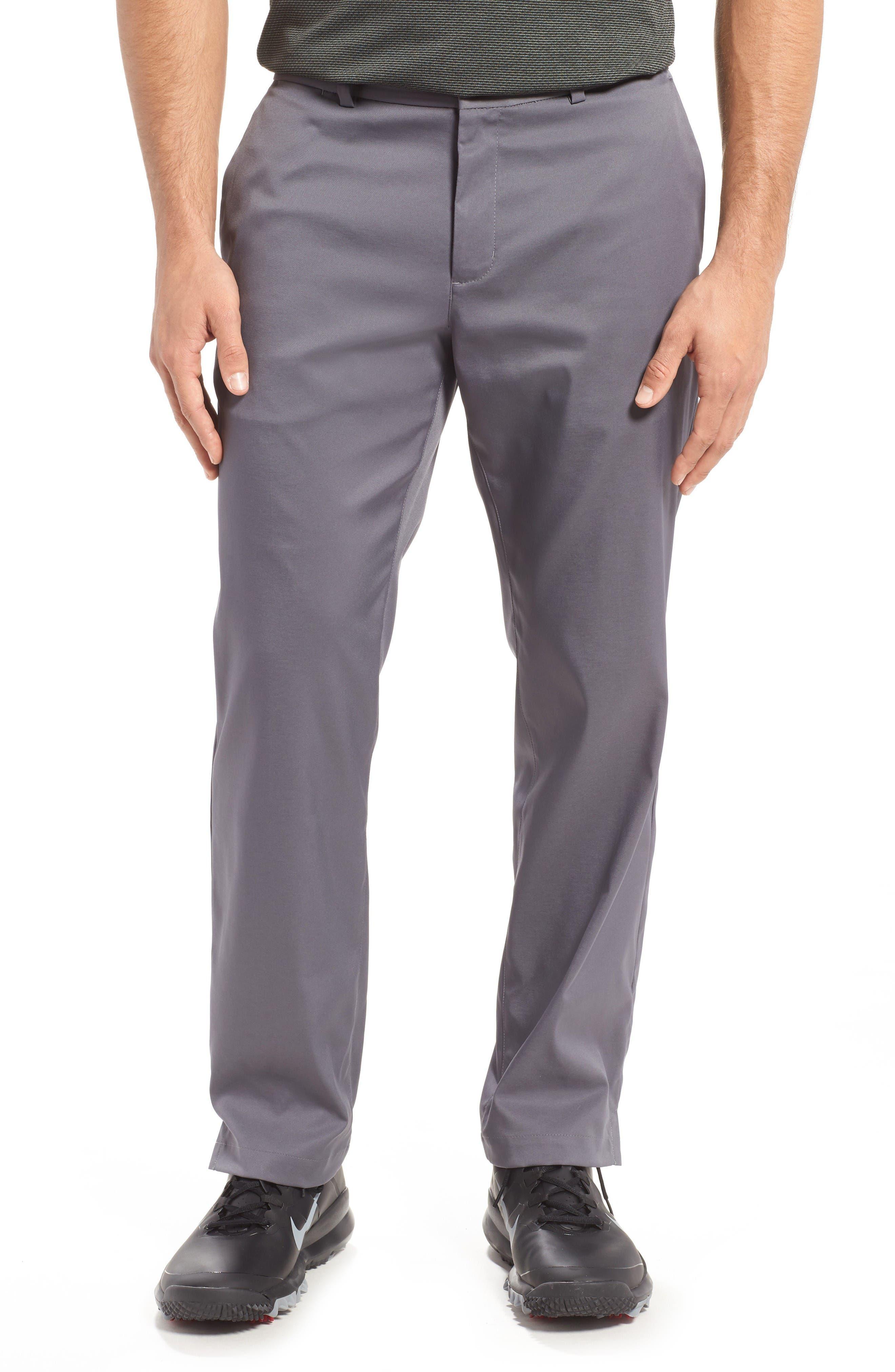 Alternate Image 1 Selected - Nike Flat Front Dri-FIT Tech Golf Pants