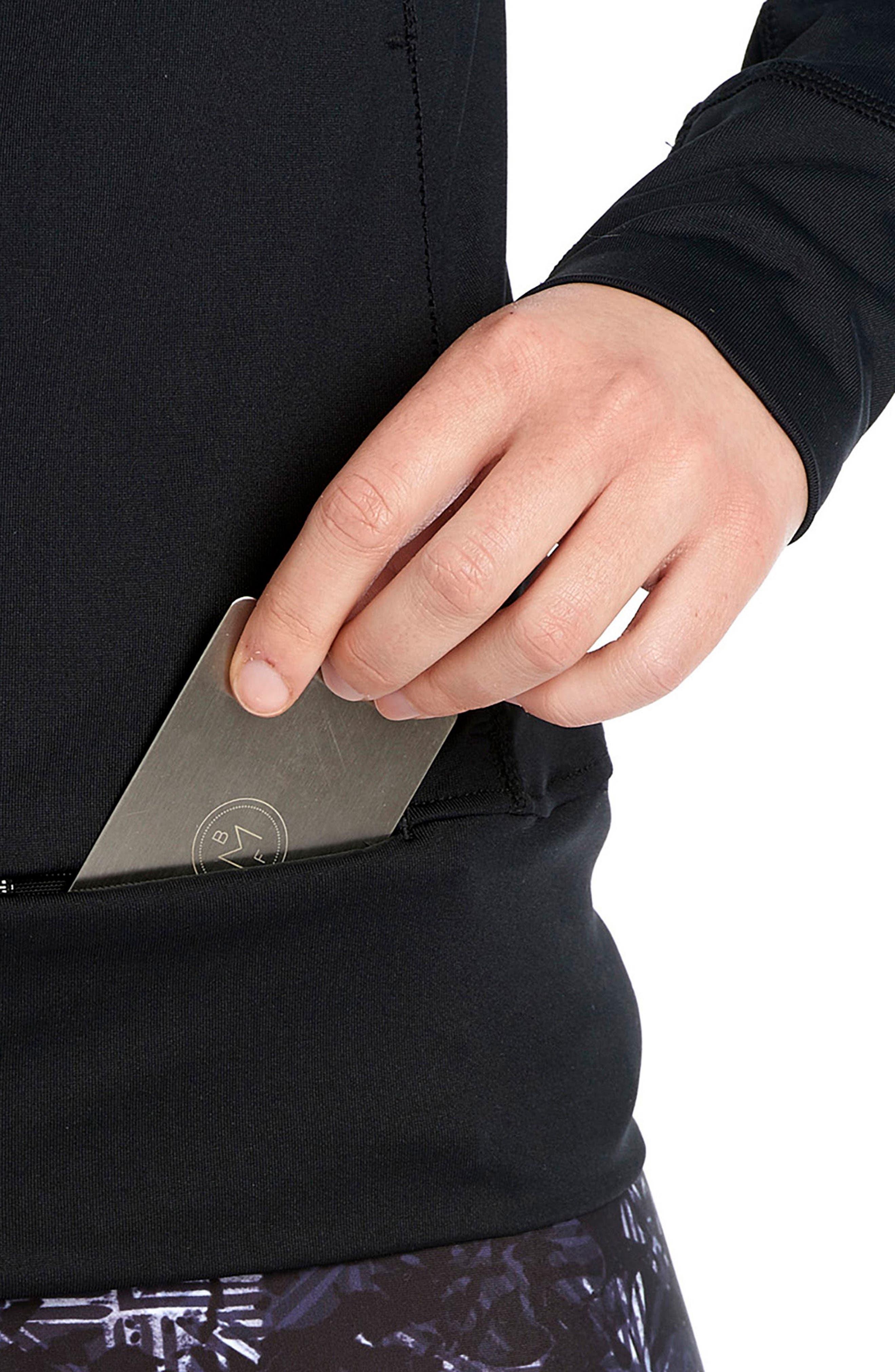 Alternate Image 4  - Lolë Essential Zip Cardigan