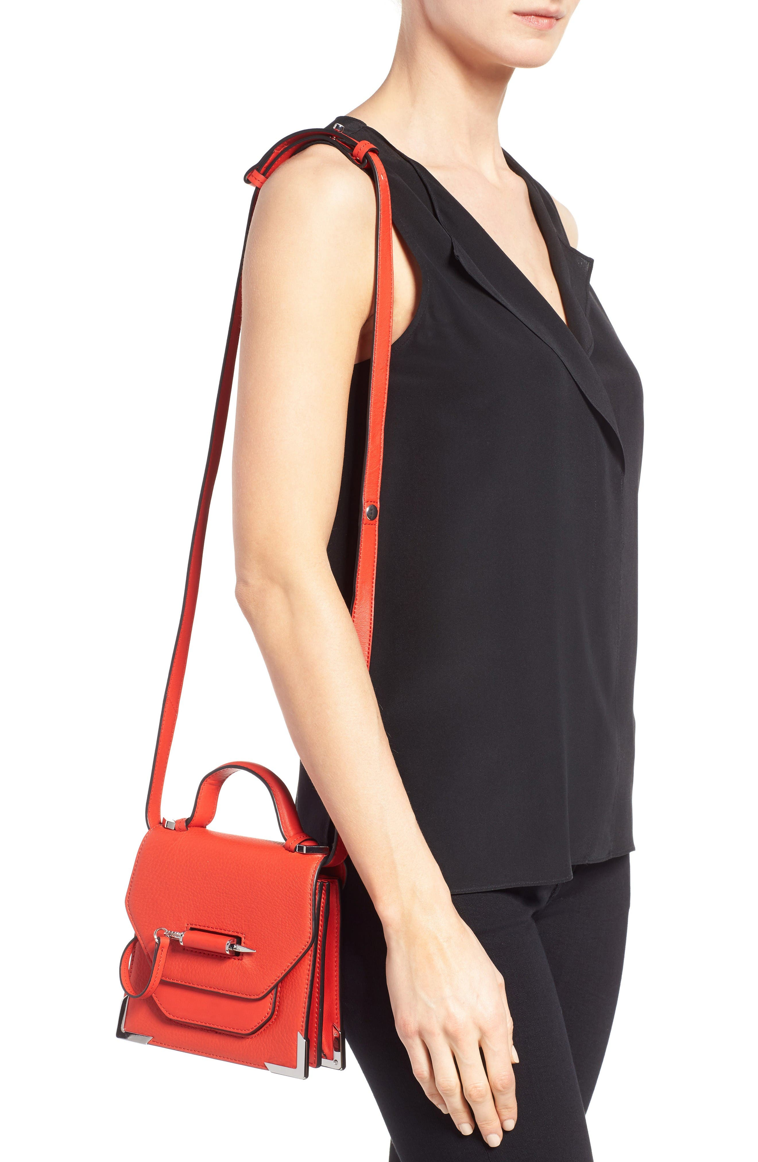 Alternate Image 2  - Mackage Mini Rubie Leather Shoulder Bag