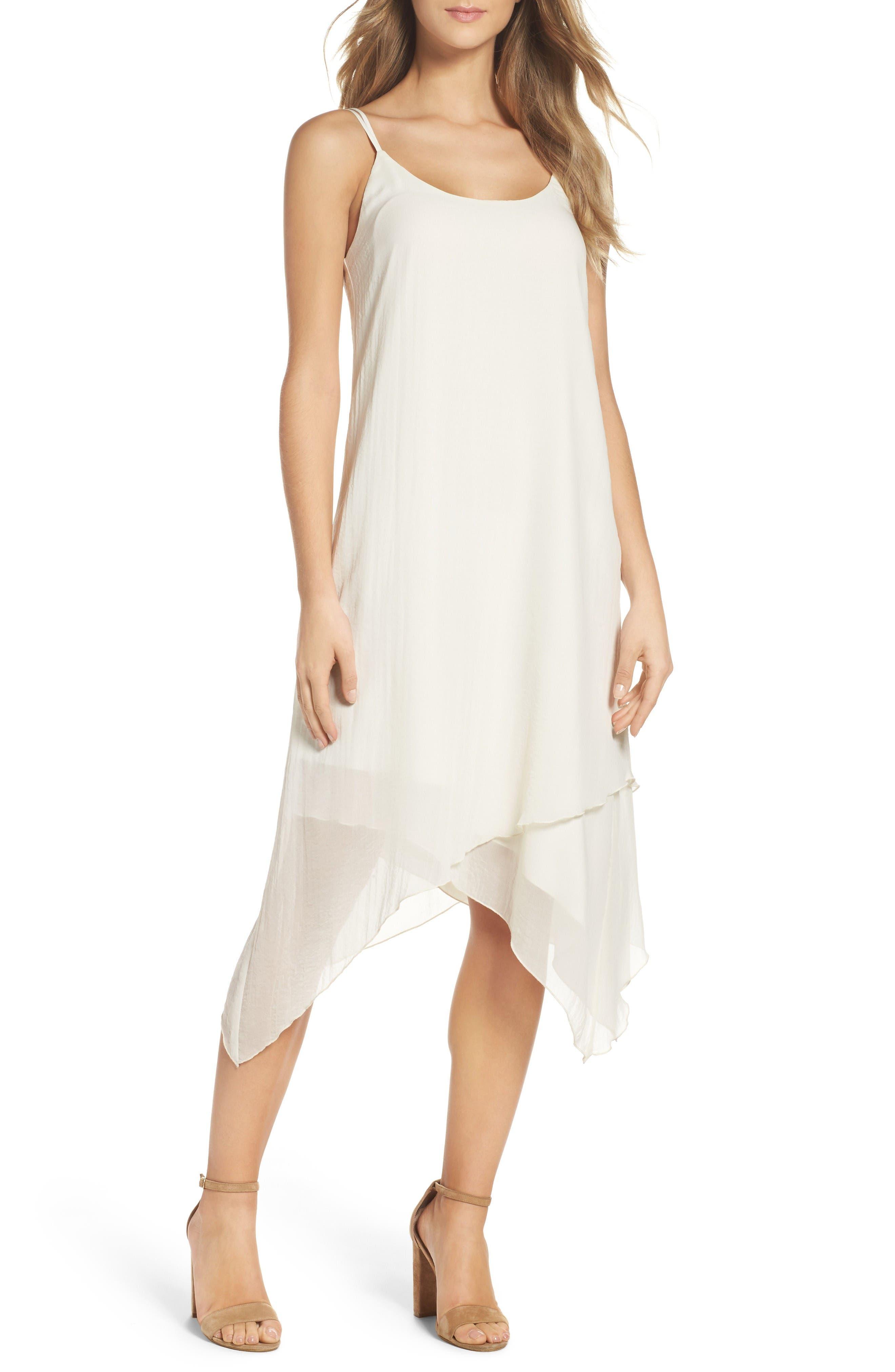 Main Image - NSR Chiffon Midi Dress