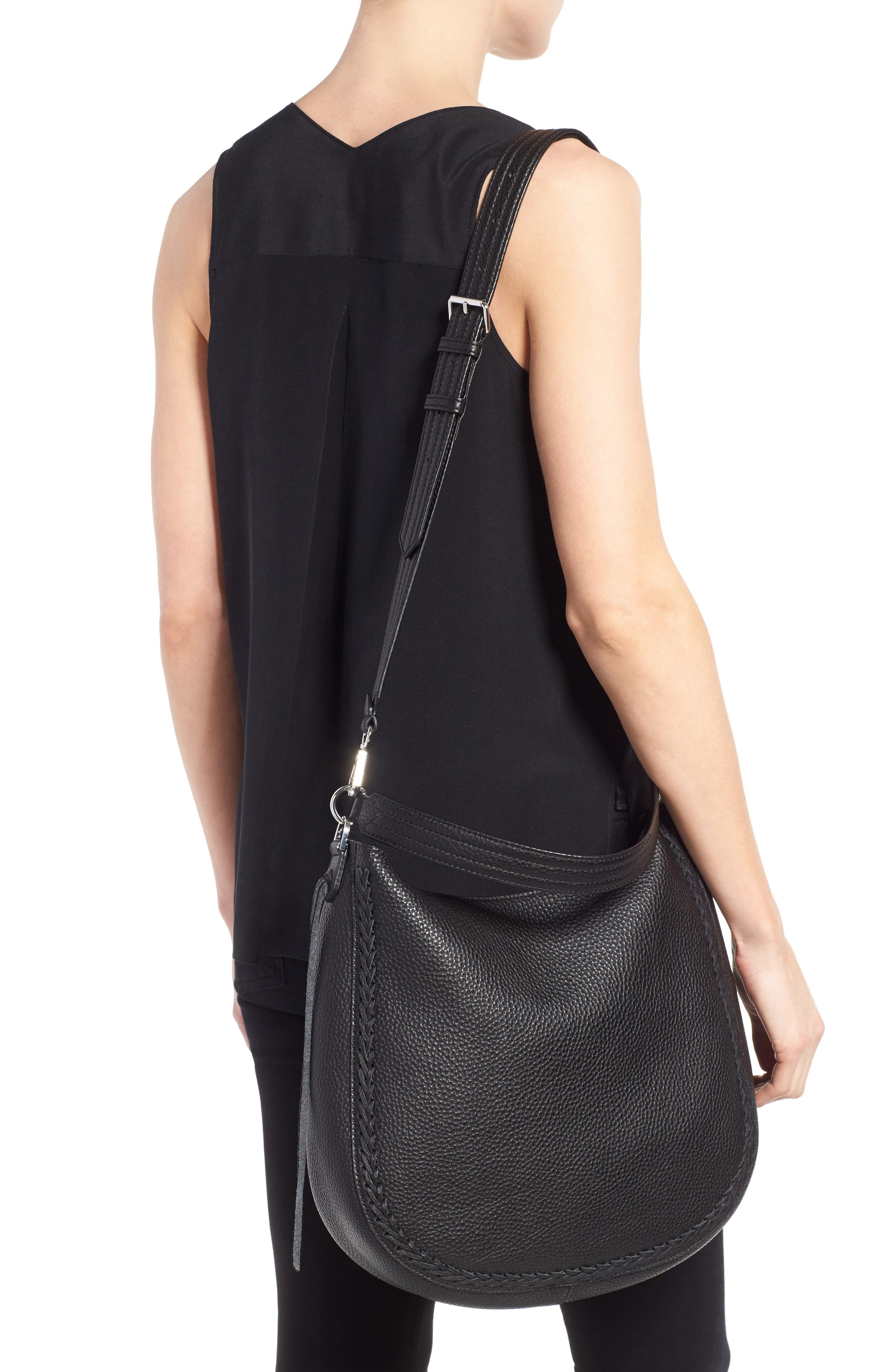 Alternate Image 2  - Rebecca Minkoff Unlined Convertible Whipstitch Hobo (Nordstrom Exclusive)