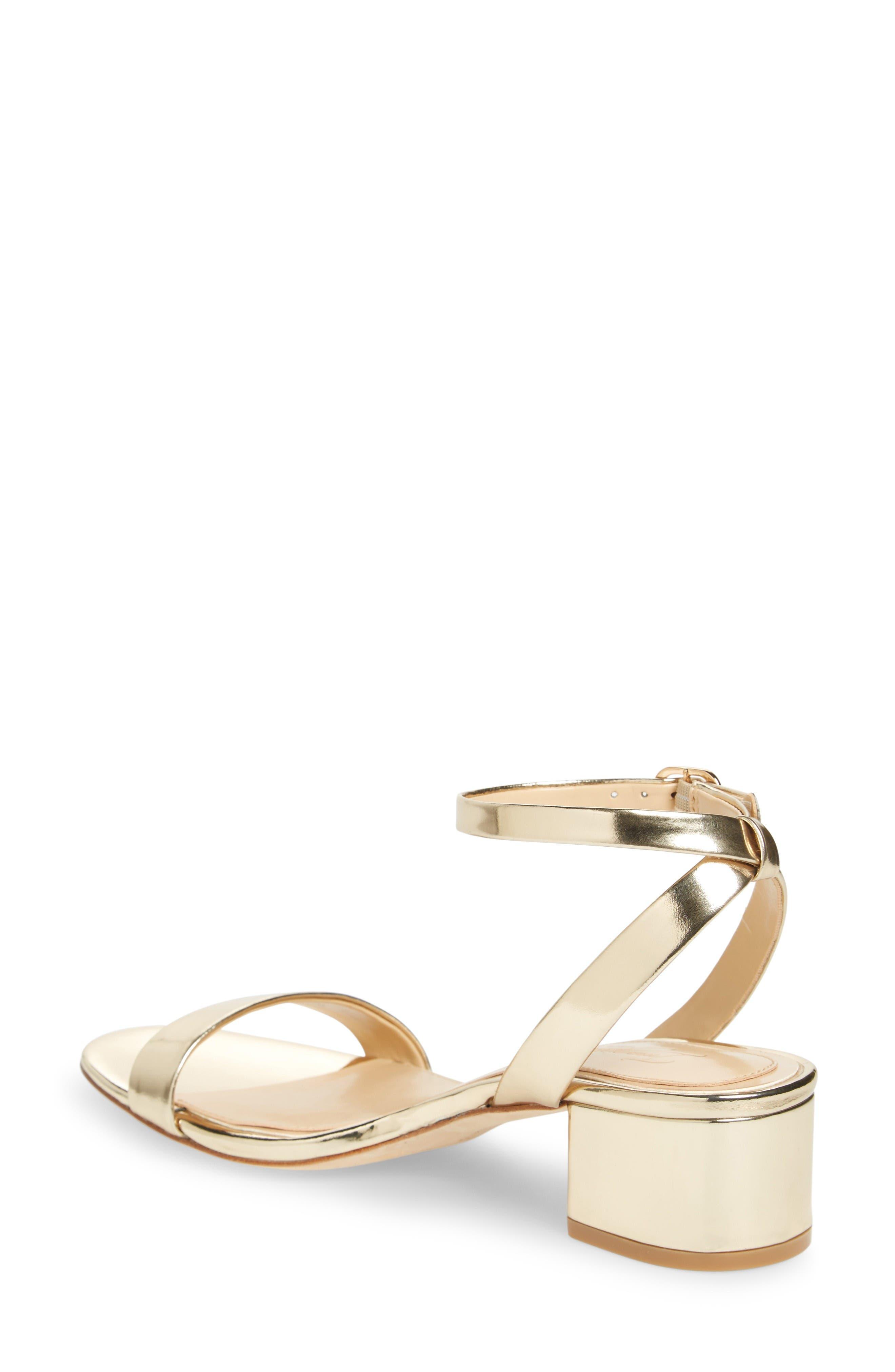 Imagine Vince Camuto Bavel Sandal,                             Alternate thumbnail 2, color,                             Soft Gold Leather
