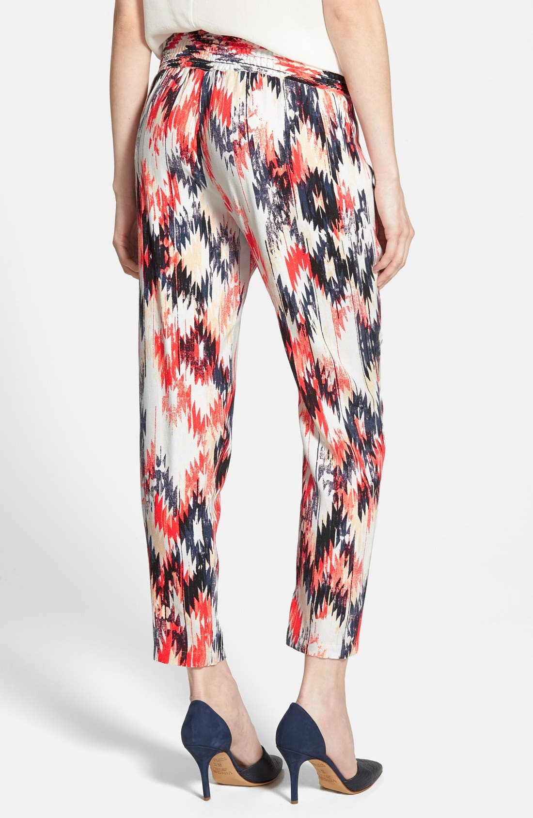 Alternate Image 2  - Ella Moss 'Zia' Print Pants