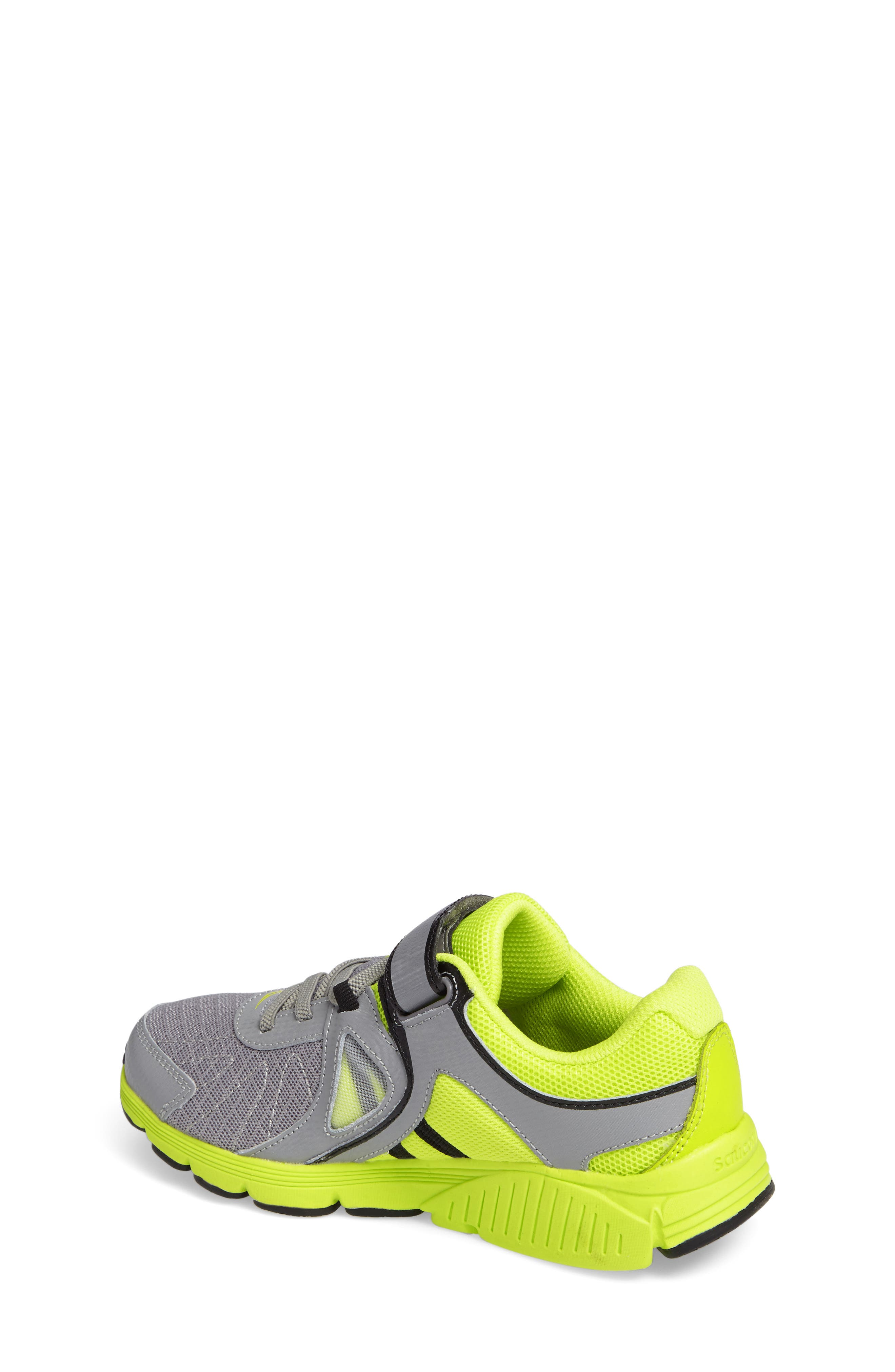 Kotaro 3 A/C Athletic Sneaker,                             Alternate thumbnail 2, color,                             Grey/ Lime