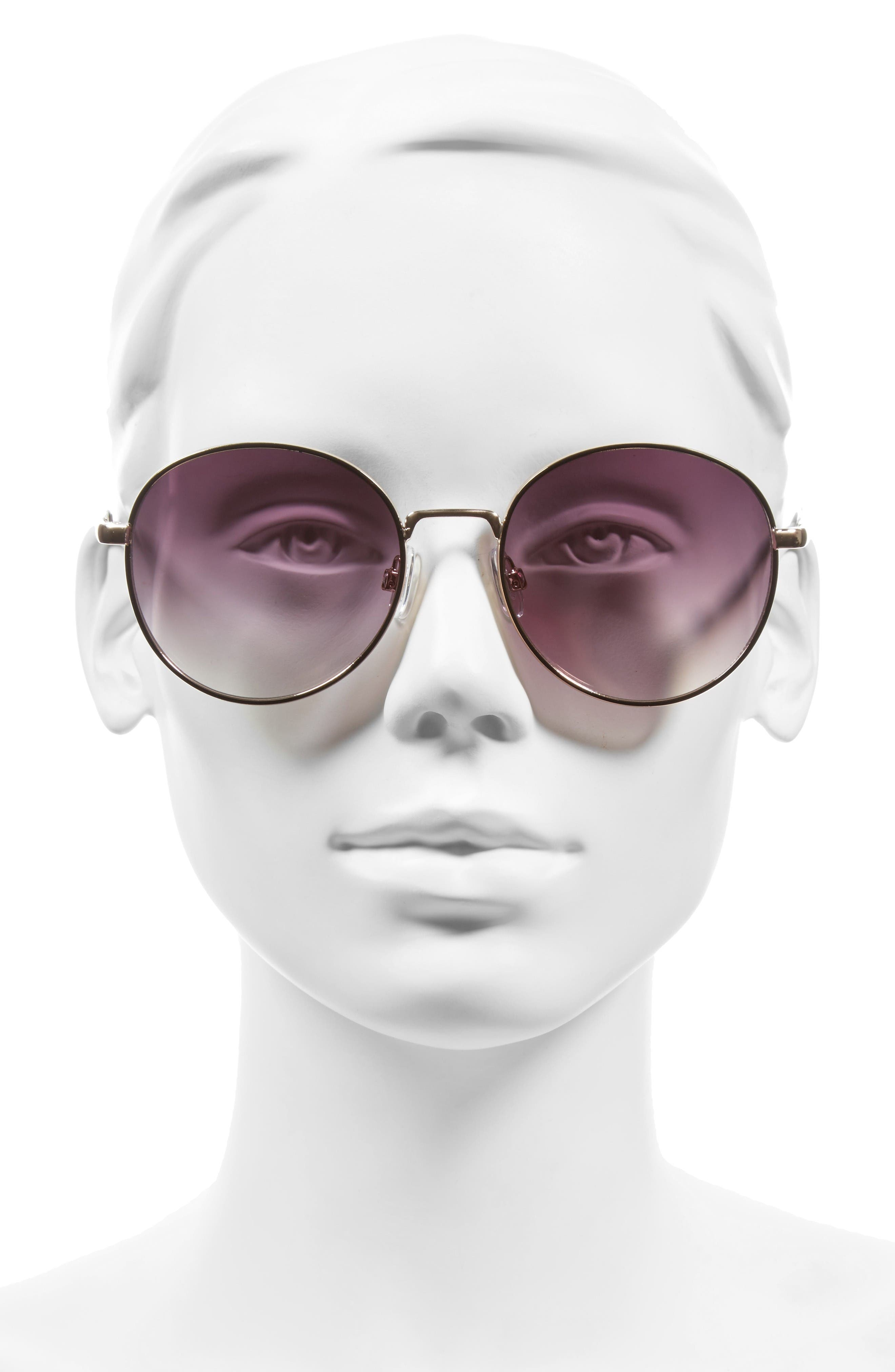 Alternate Image 2  - BP. 55mm Round Sunglasses