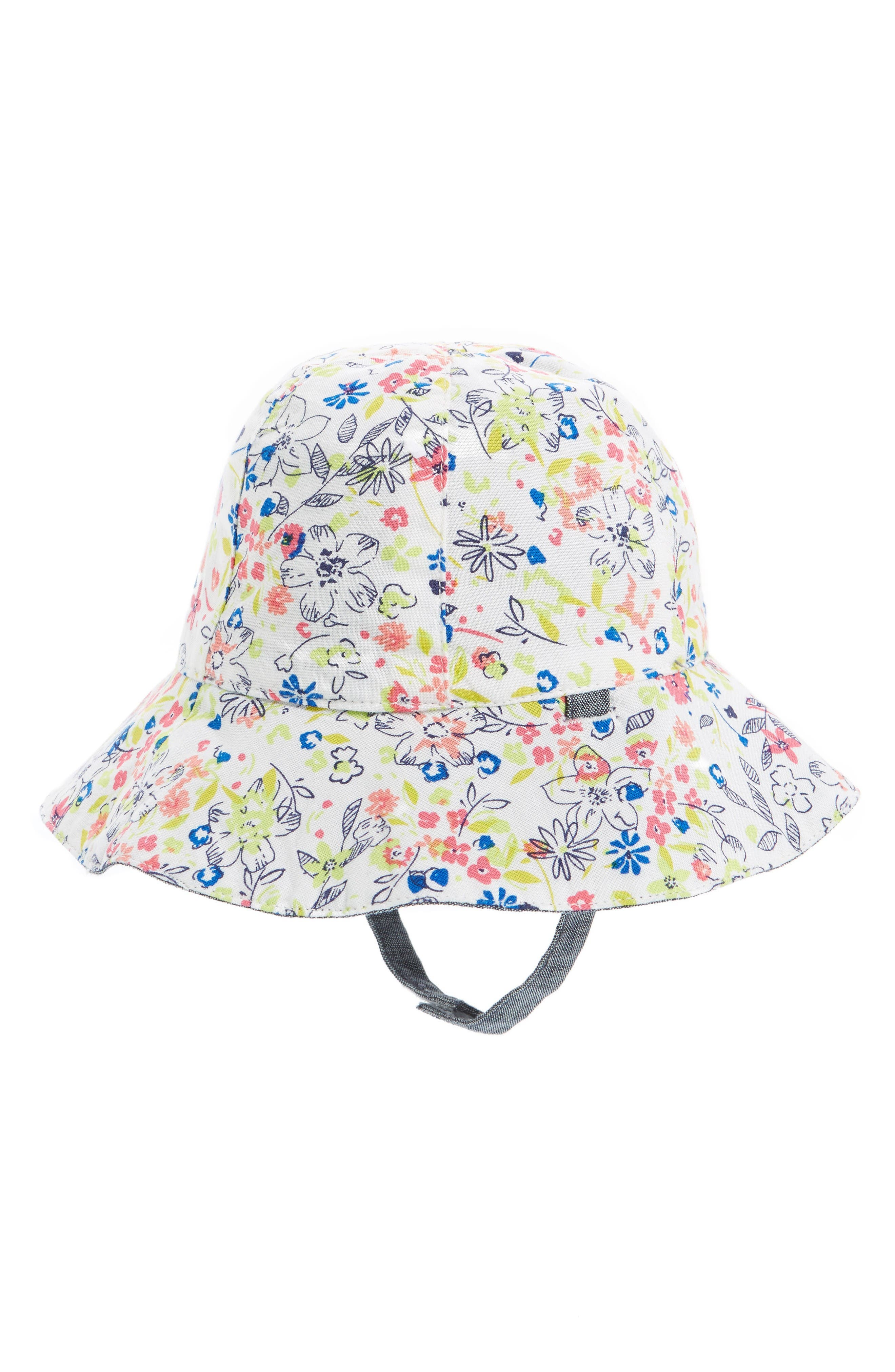 Tucker + Tate Reversible Sun Hat (Baby Girls)