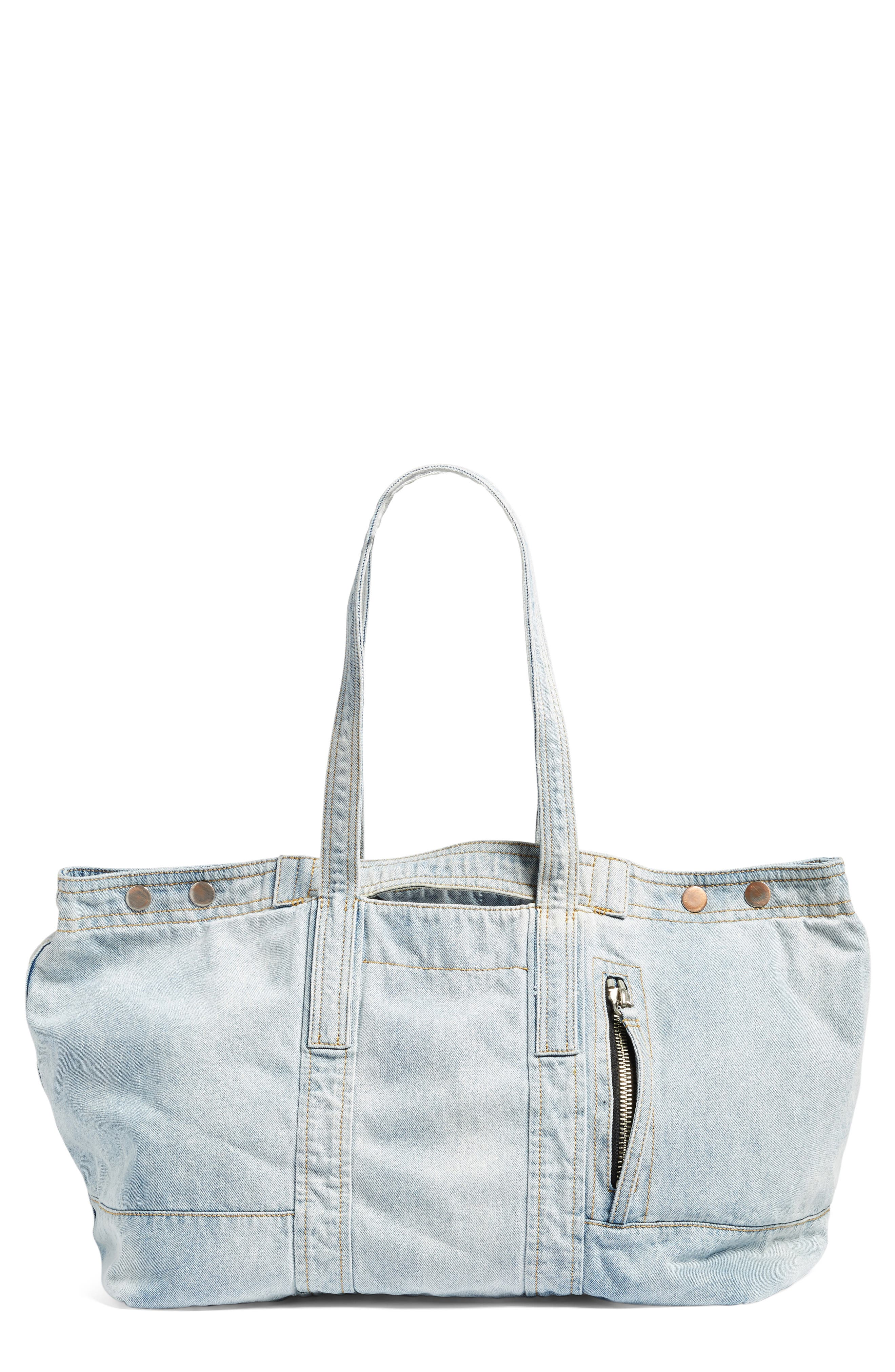 Field Tote,                         Main,                         color, Light Blue
