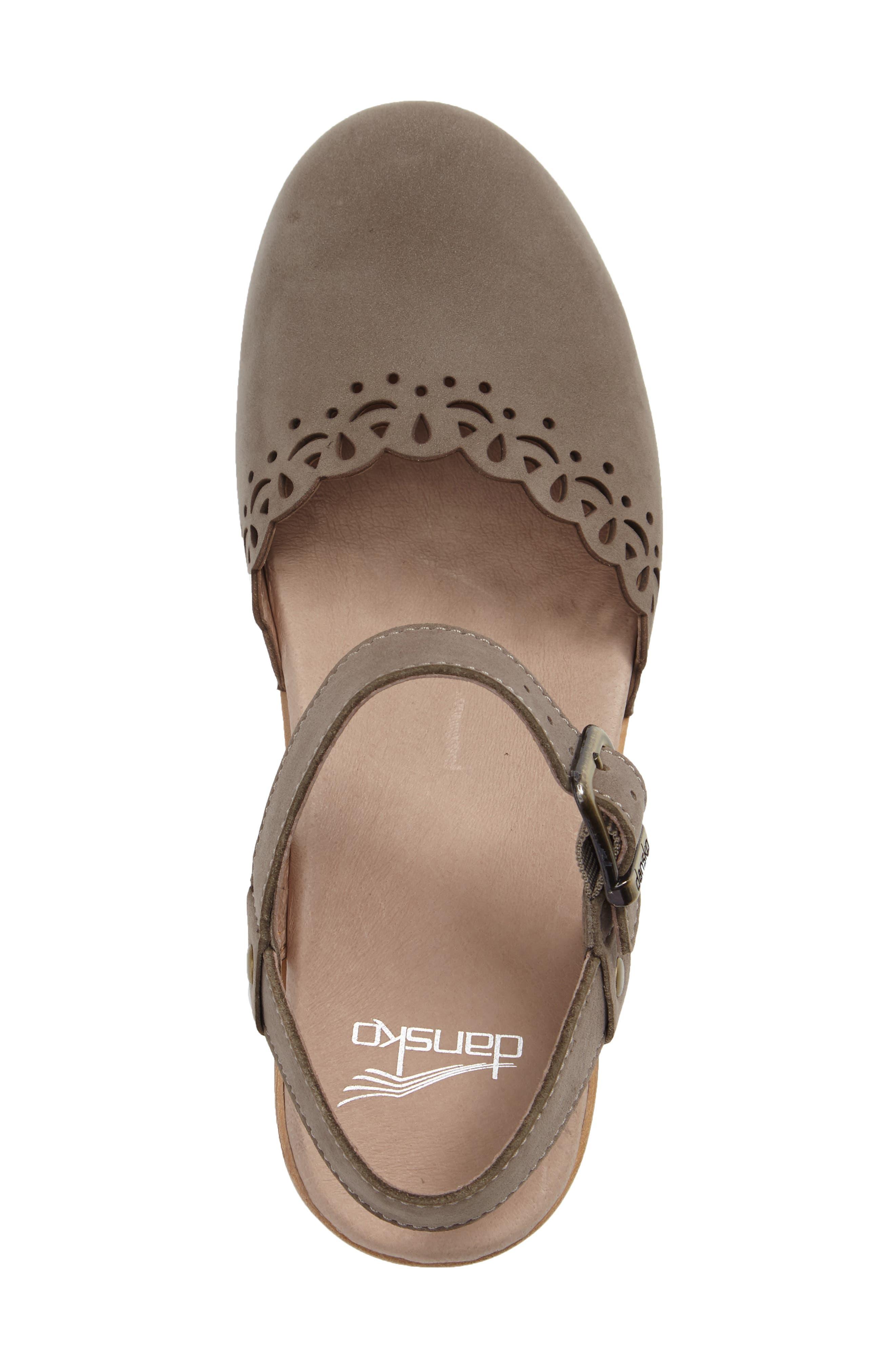 Alternate Image 3  - Dansko 'Marta' Ankle Strap Clog (Women)