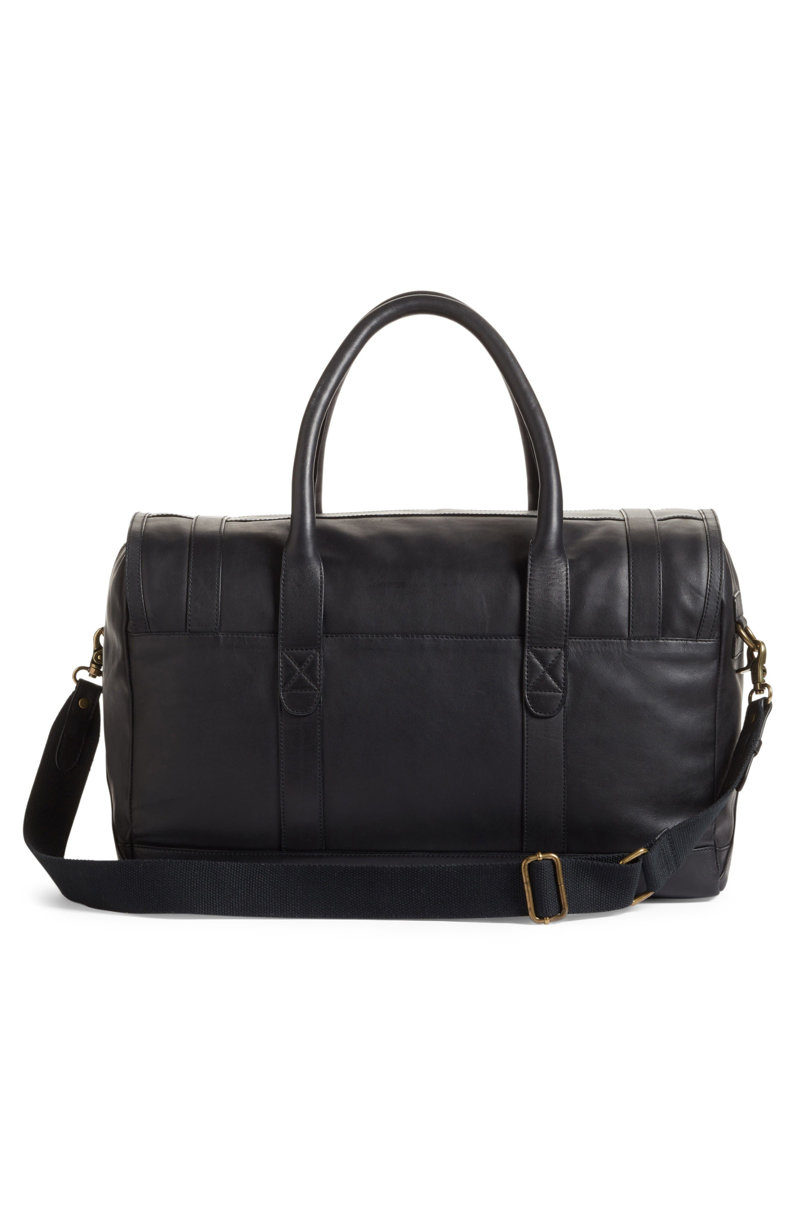 Alternate Image 3  - Cole Haan Leather Duffel Bag