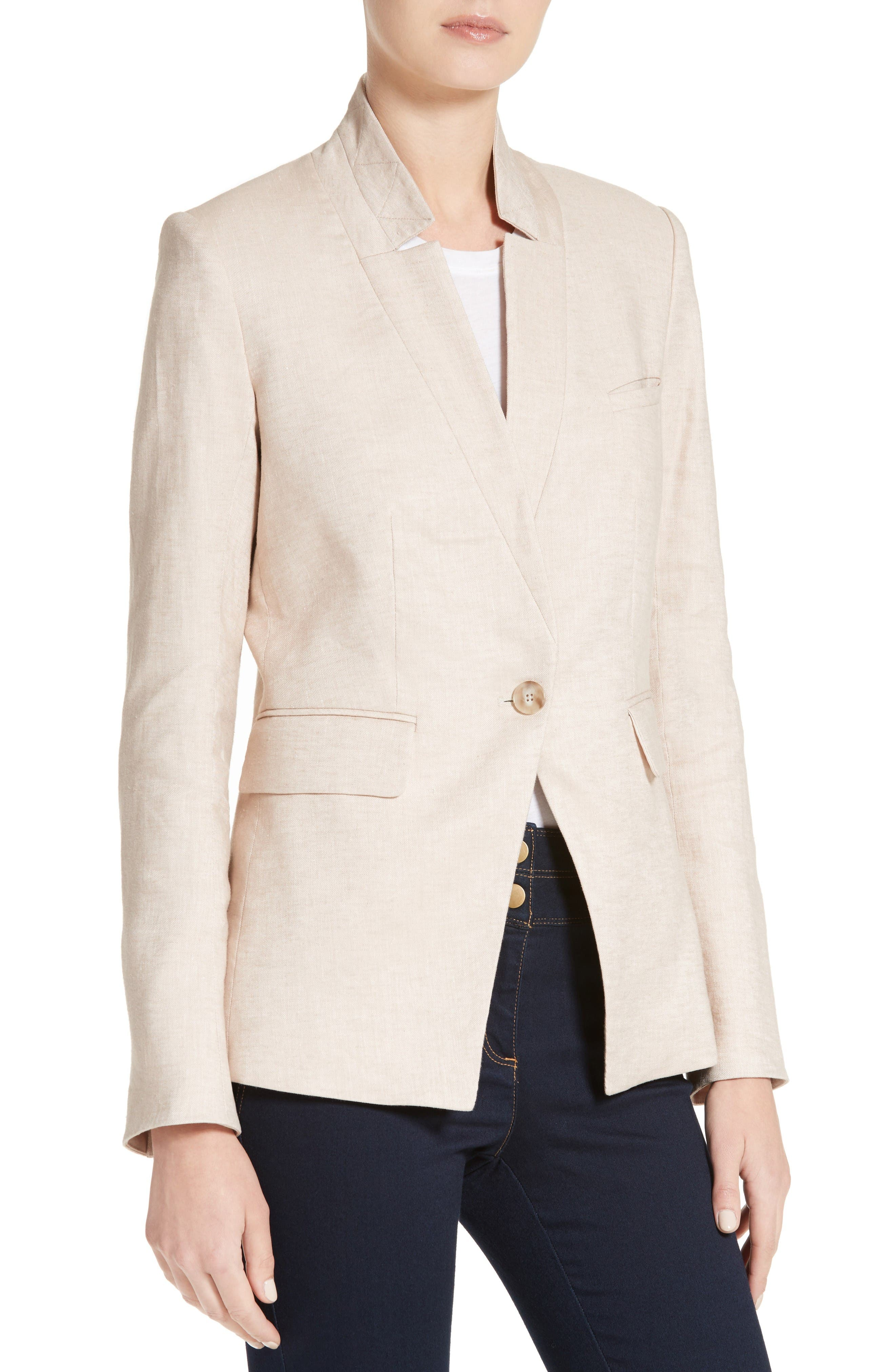 Alternate Image 4  - Veronica Beard Turn-Up Collar Jacket