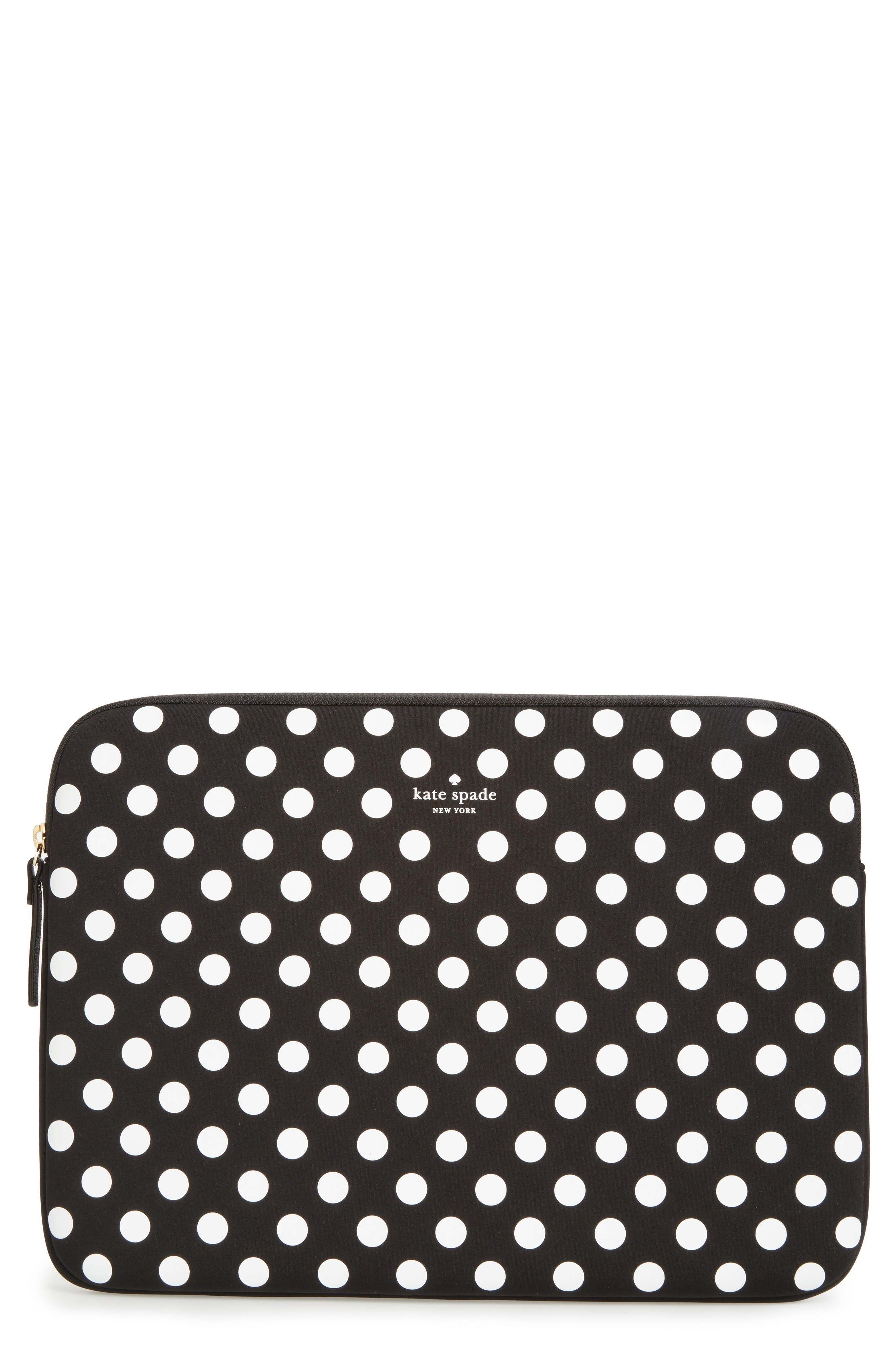 KATE SPADE NEW YORK dot laptop sleeve