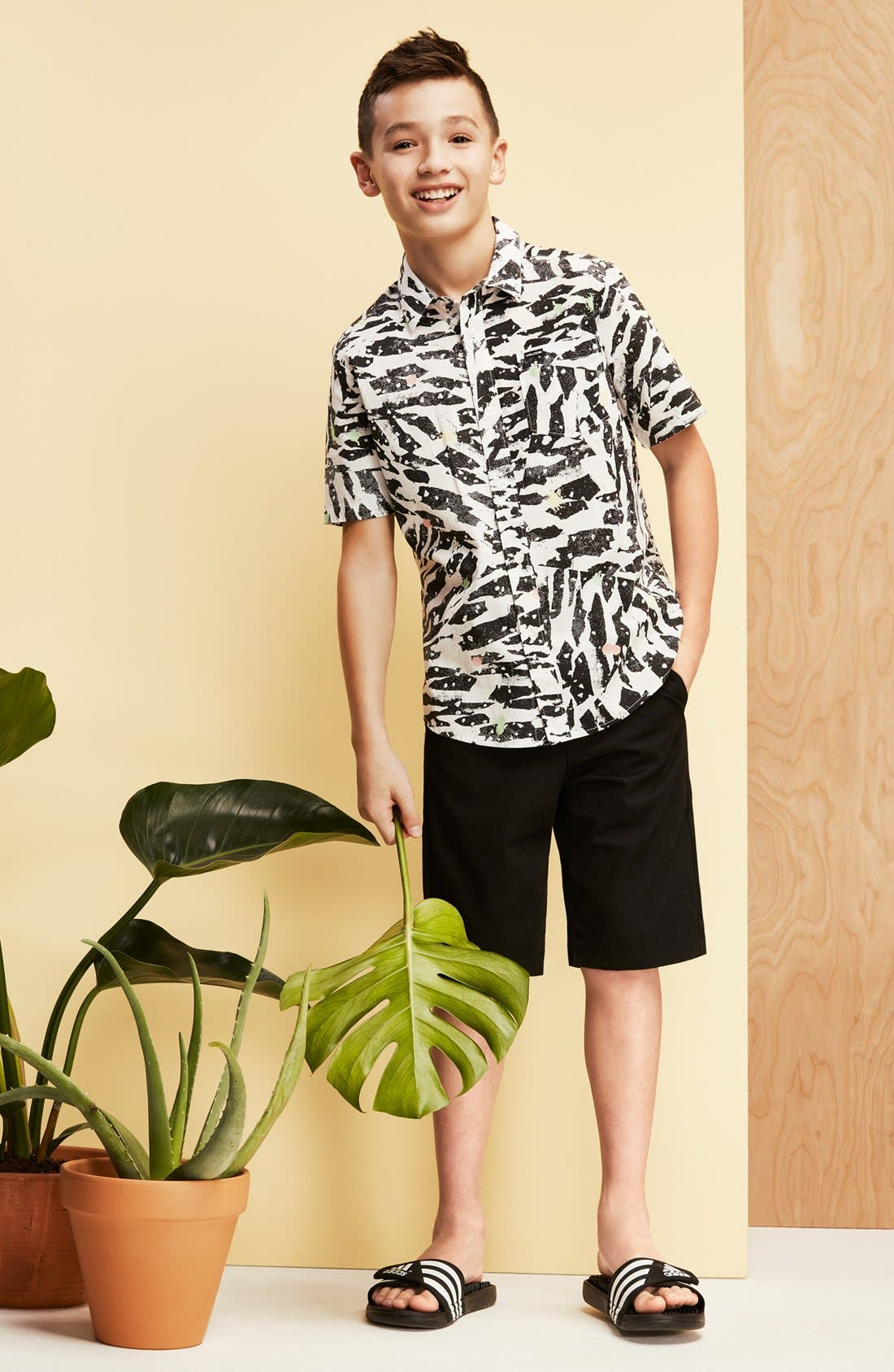 Alternate Image 2  - Volcom Chino Shorts (Toddler Boys, Little Boys & Big Boys)