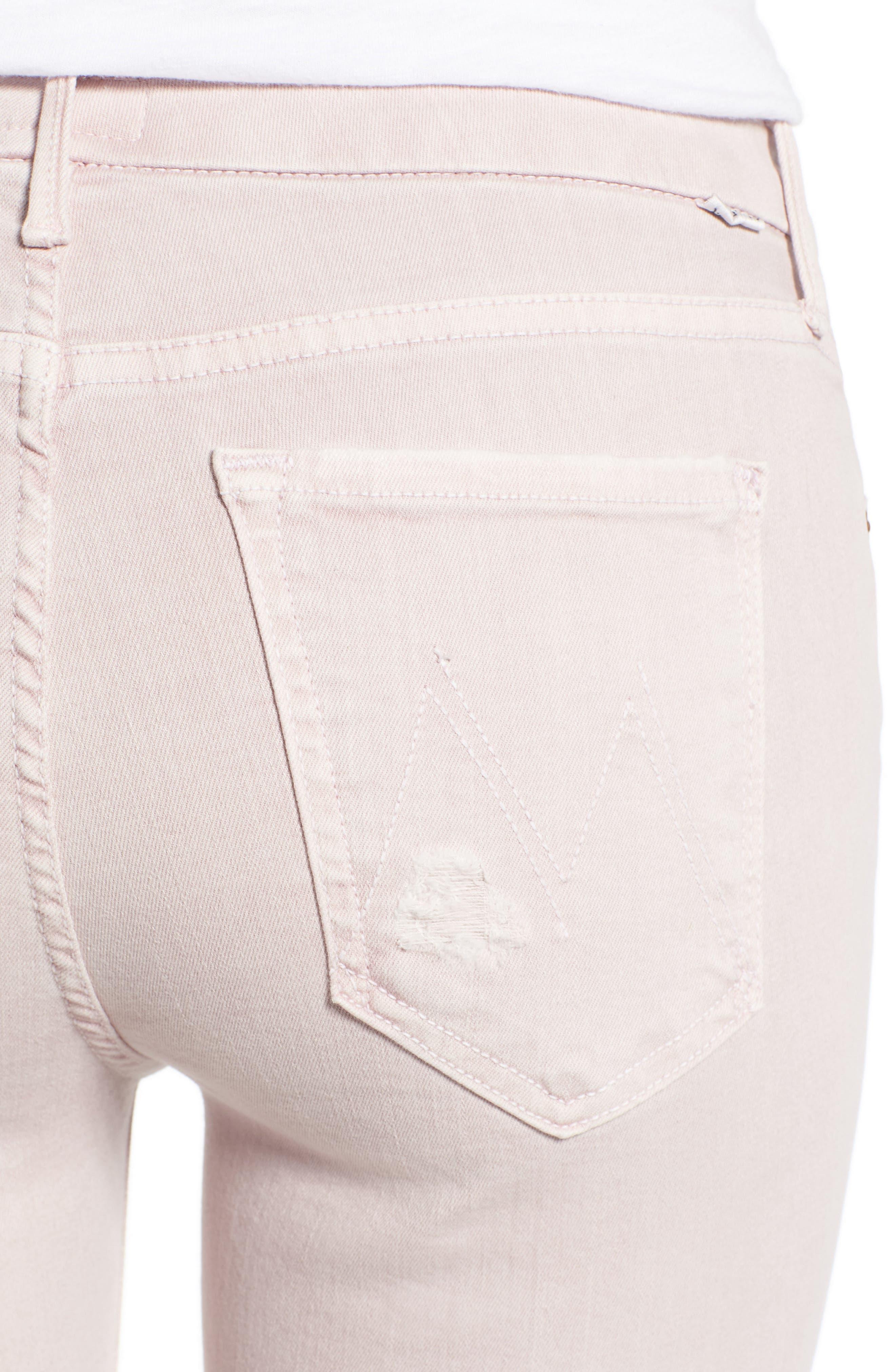 Alternate Image 4  - MOTHER The Looker Crop Skinny Jeans