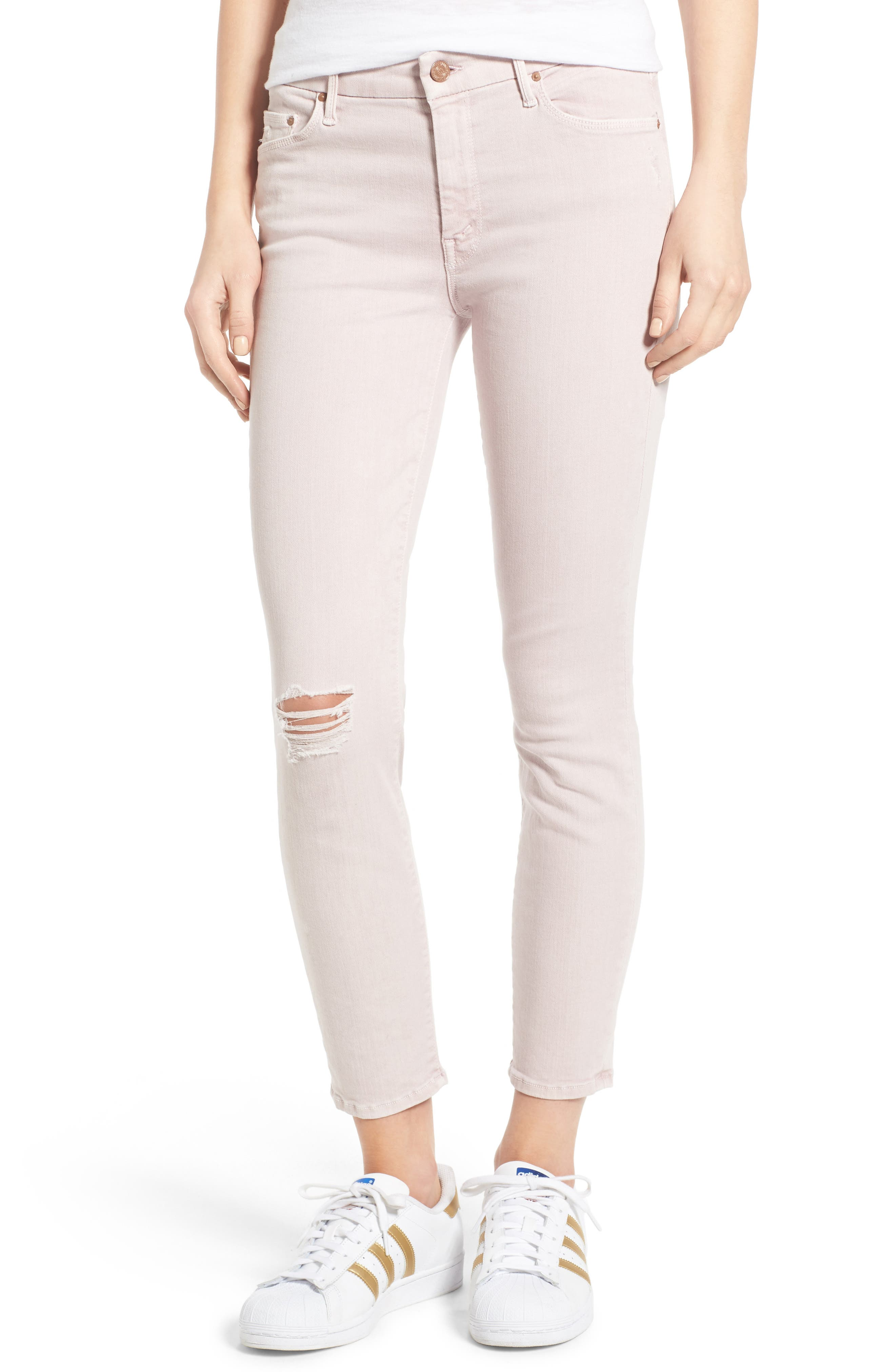 Alternate Image 1 Selected - MOTHER The Looker Crop Skinny Jeans