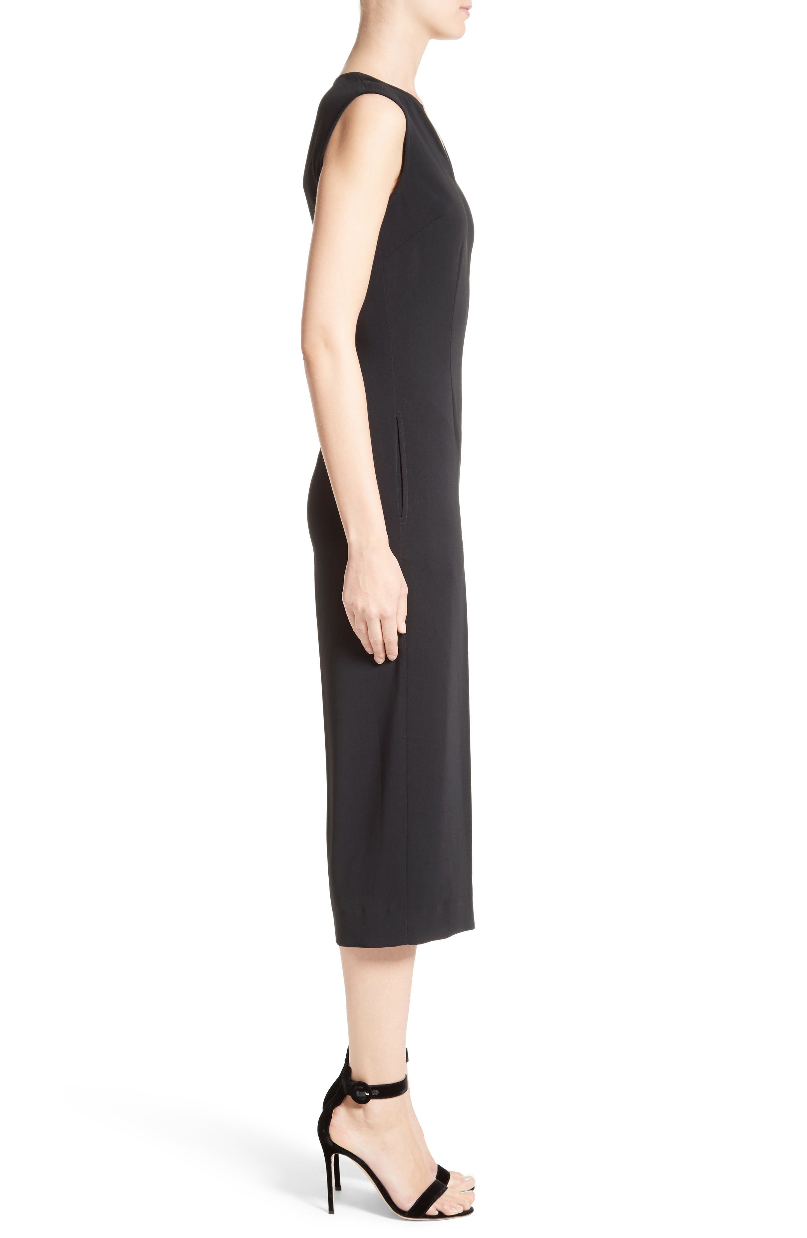 Alternate Image 3  - St. John Collection Classic Stretch Cady Jumpsuit