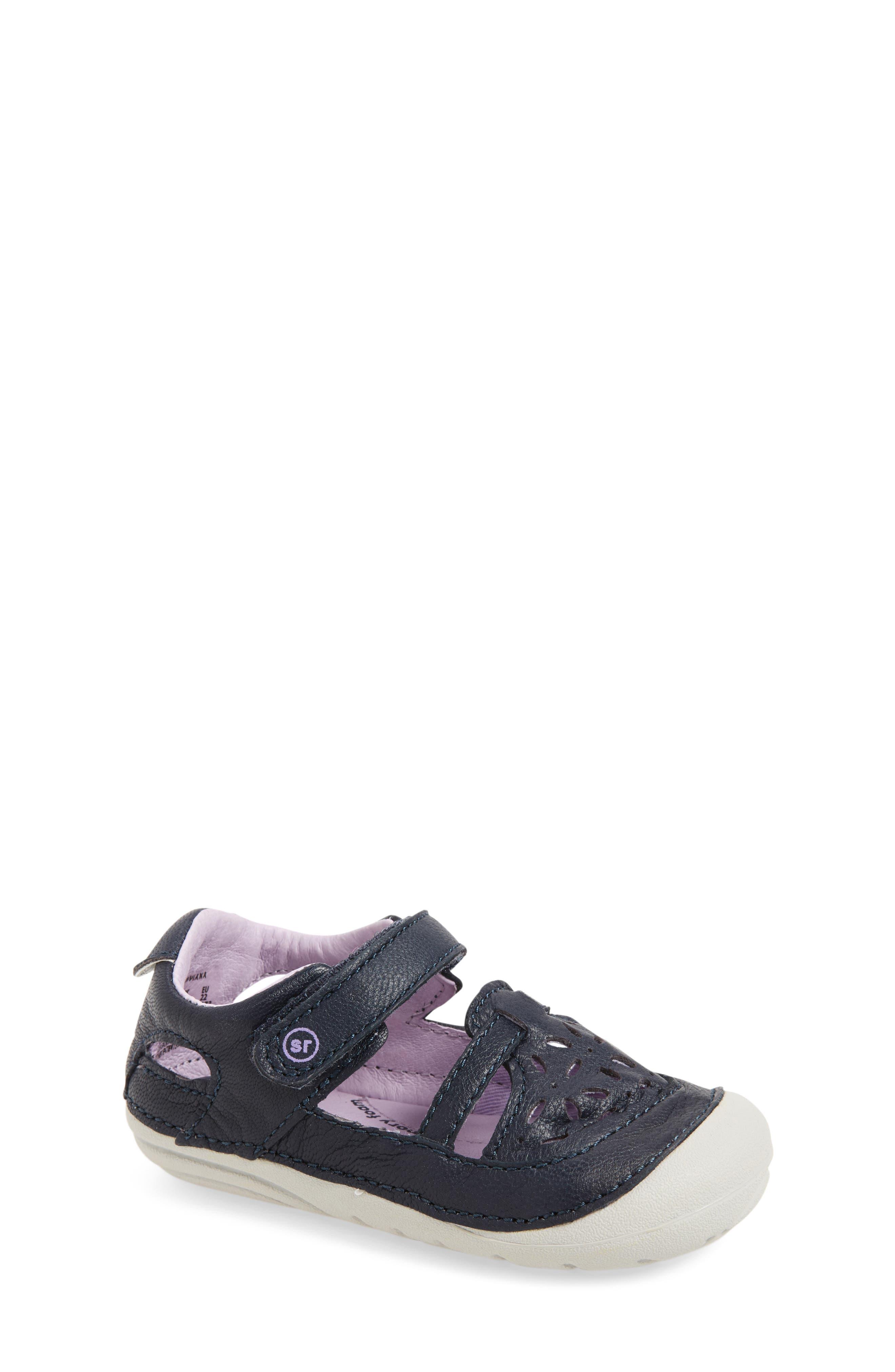 Alternate Image 1 Selected - Stride Rite Viviana Soft Motion Sandal (Baby & Walker)
